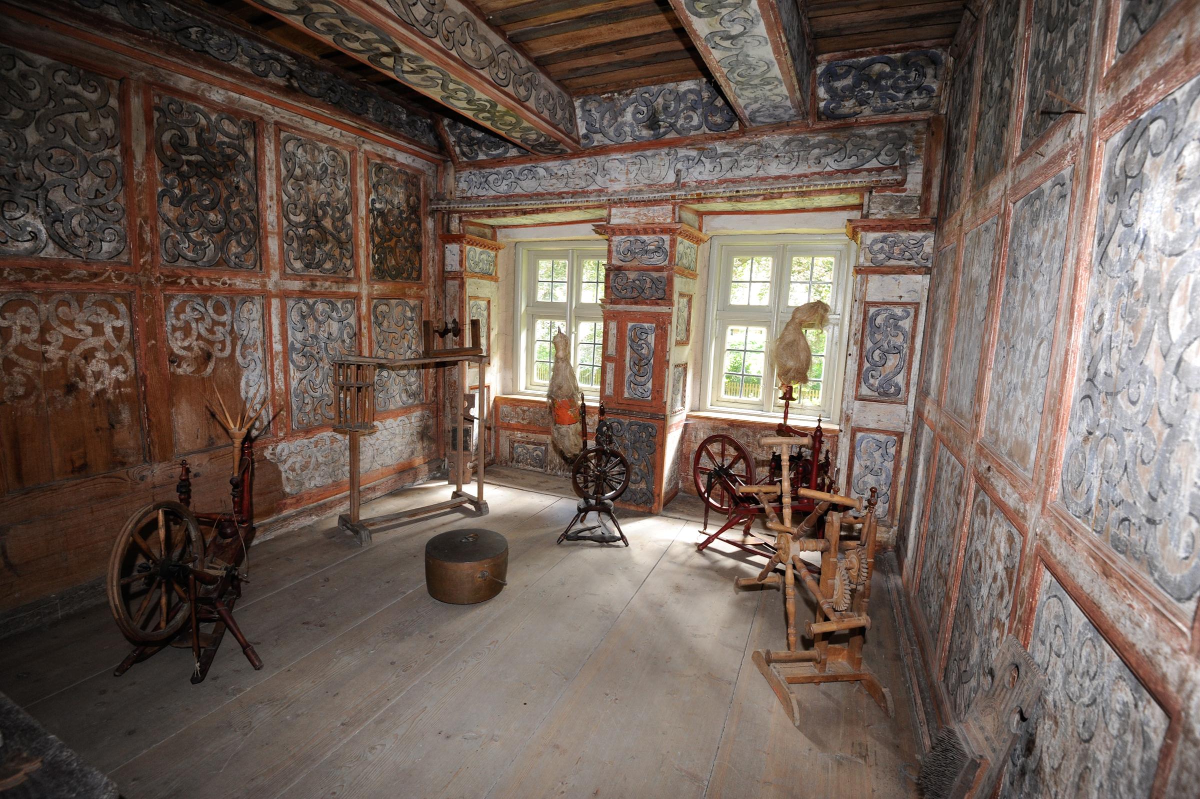 Kammer im Kloster Isenhagen