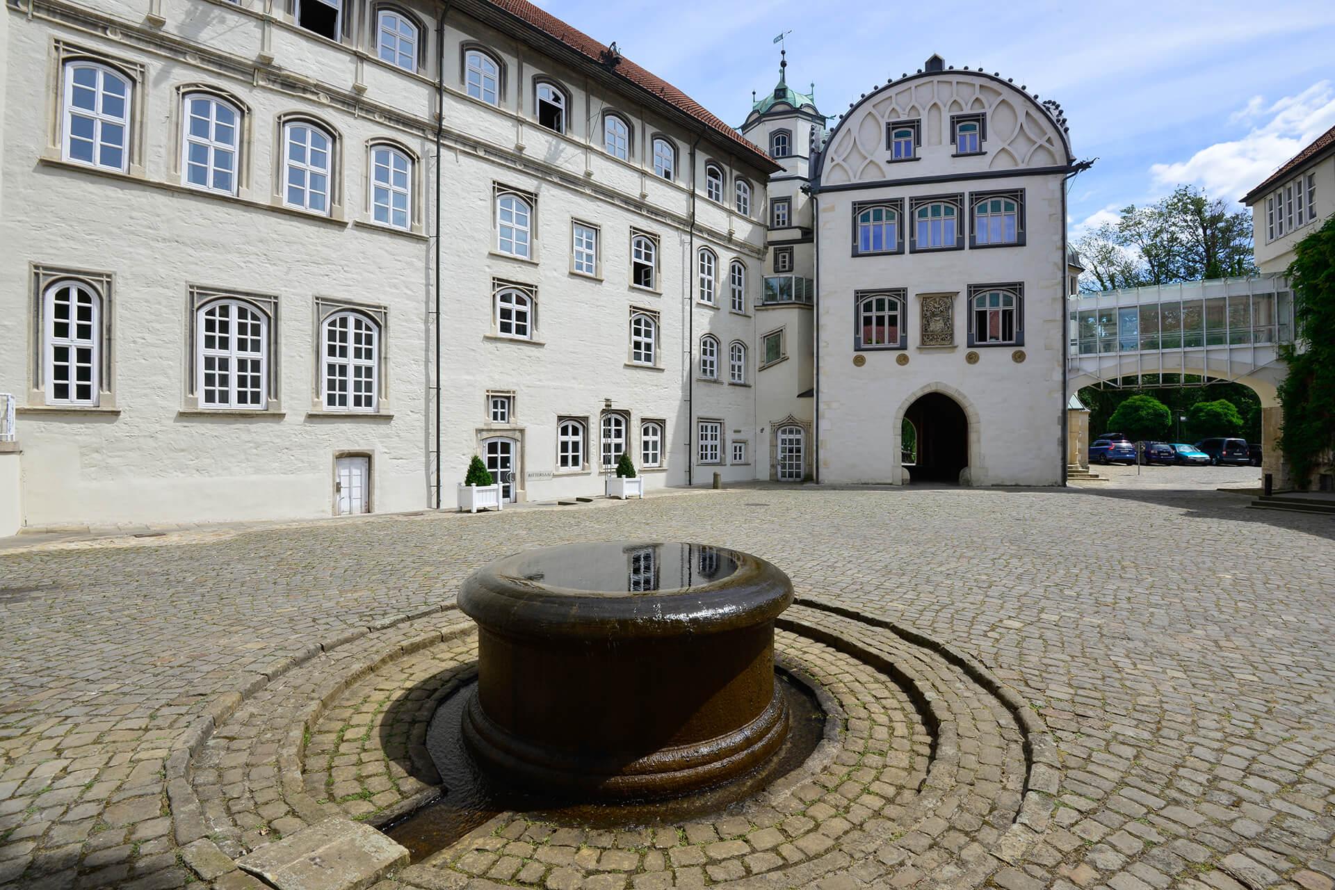 Brunnen am Schlossinnenhof