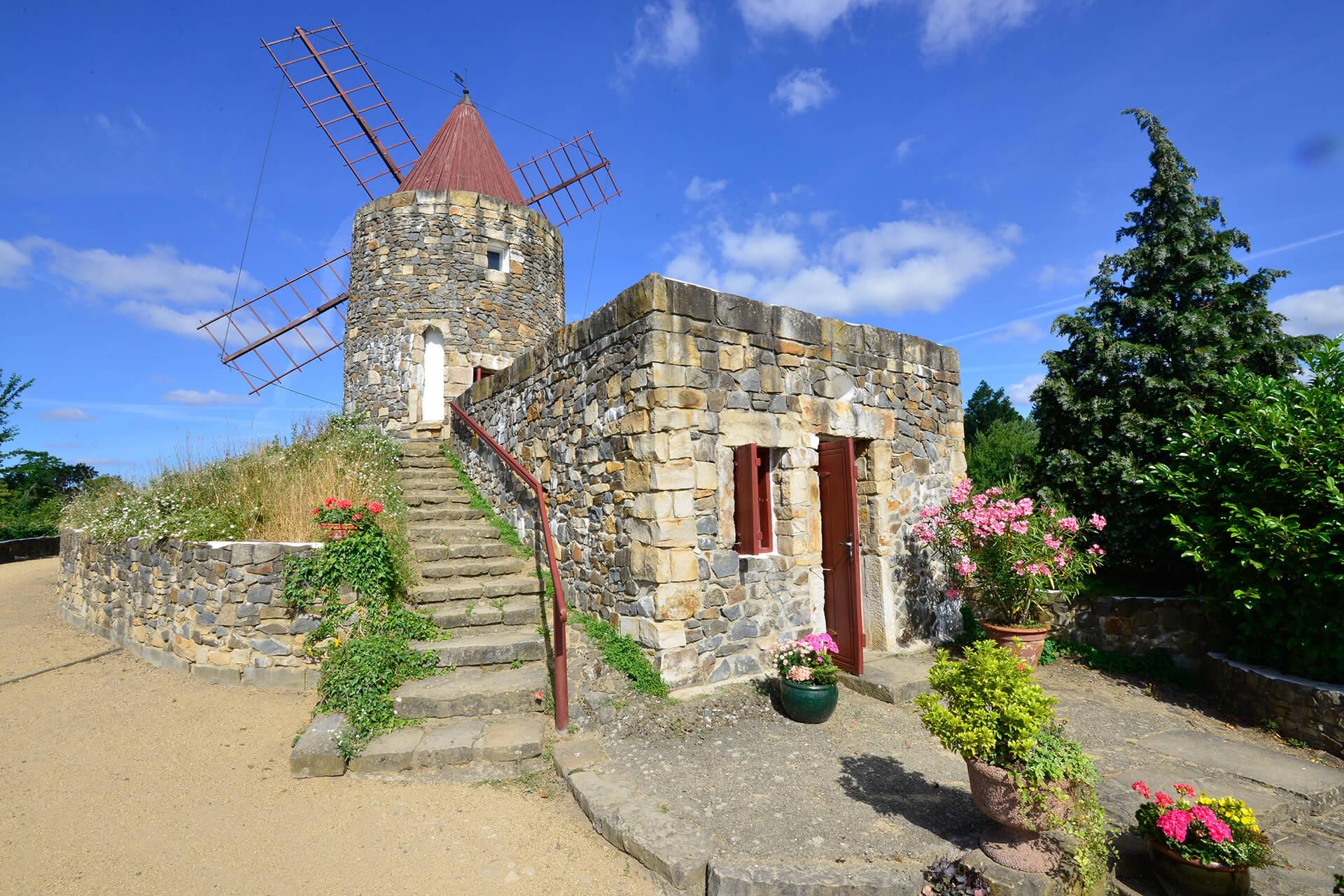Französische Mühle im Mühlenmuseum