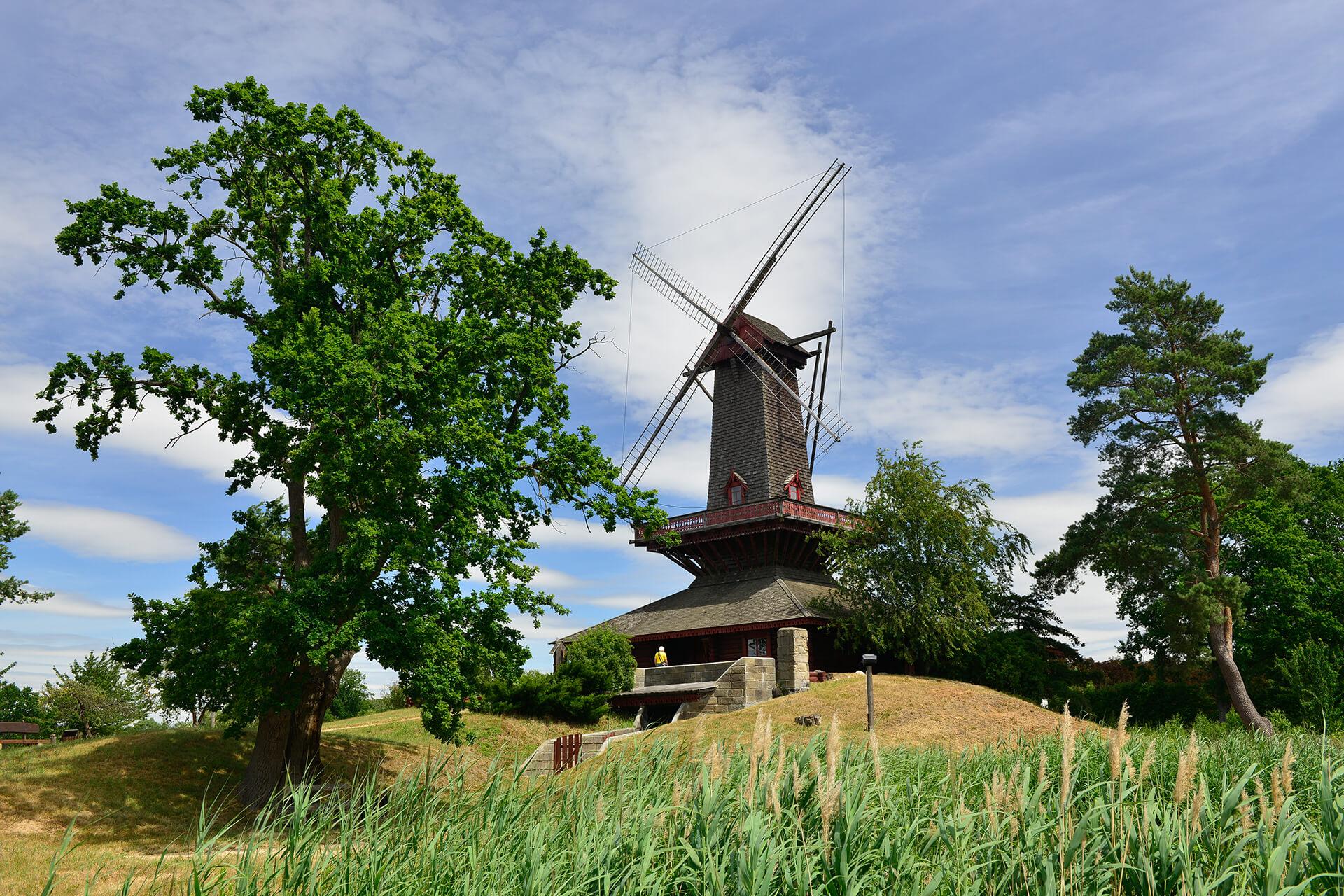 Ukrainische Mühle im Mühlenmuseum