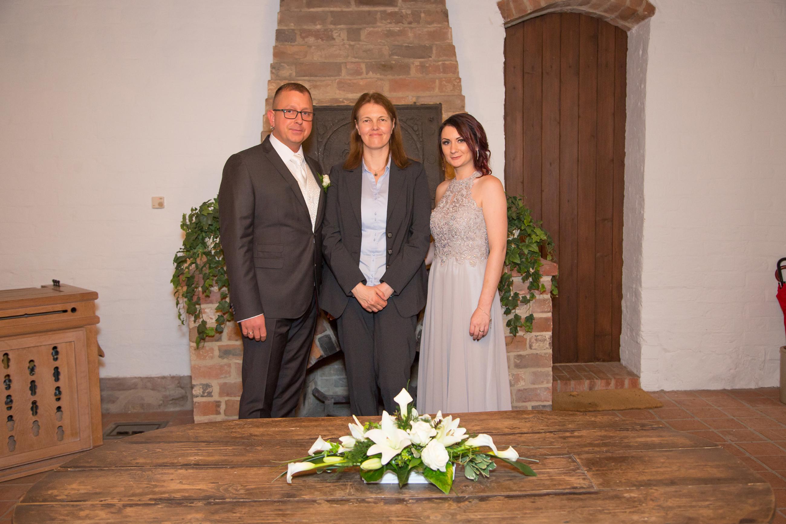 Standesamtliche Trauung im Kapitelsaal des Kloster Isenhagen