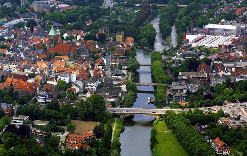Luftbild Rheine