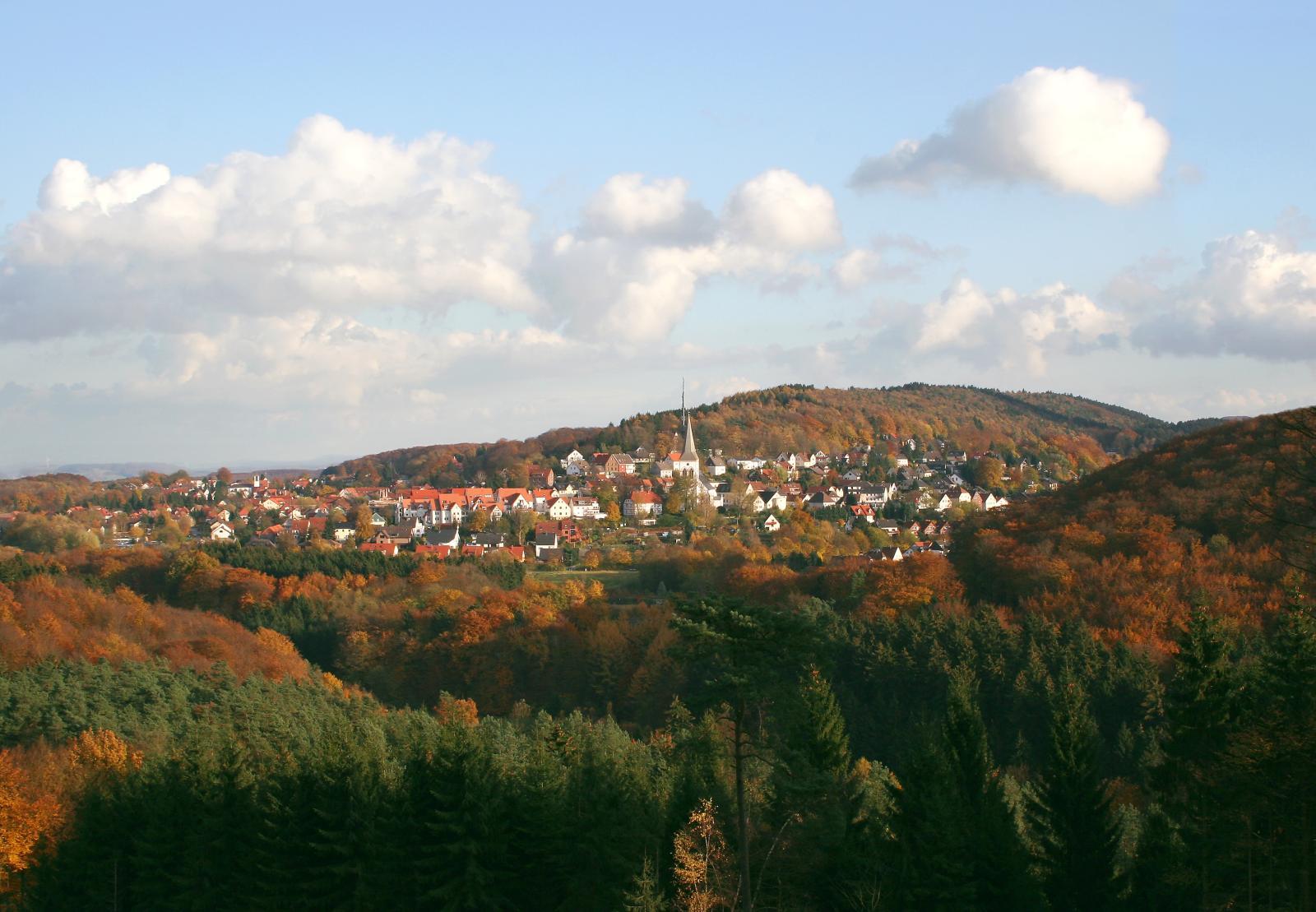 Oerlinghausen im Herbst