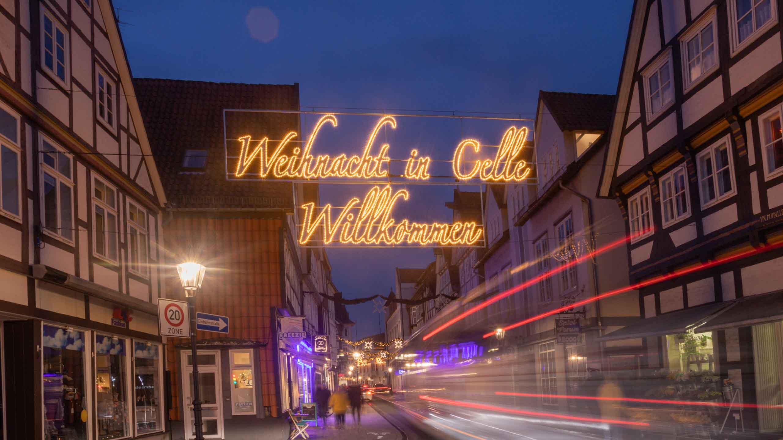Willkommen in der Weihnachtsstadt Celle