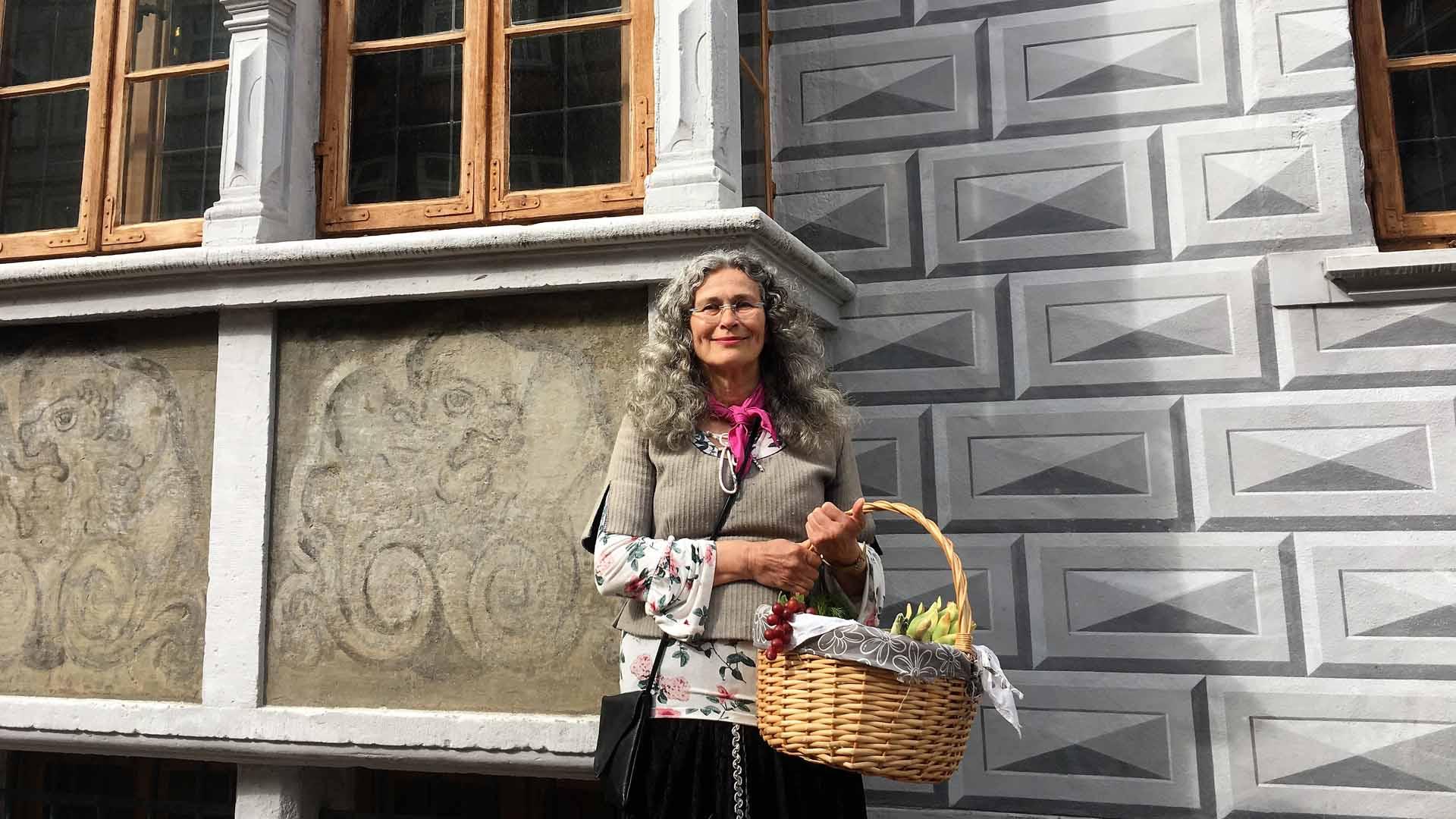 Kostümführung mit der Marktfrau
