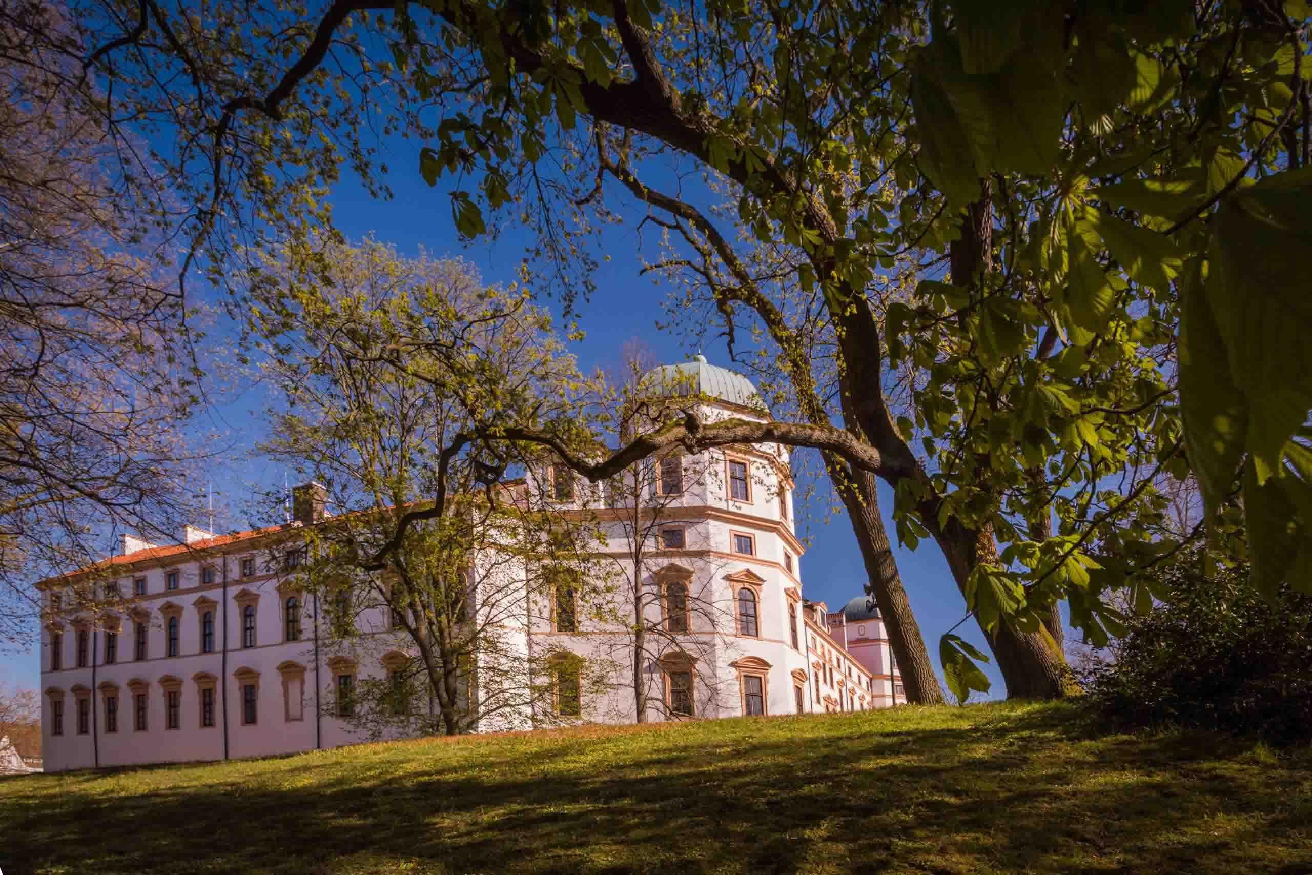 Celler Schloss von außen