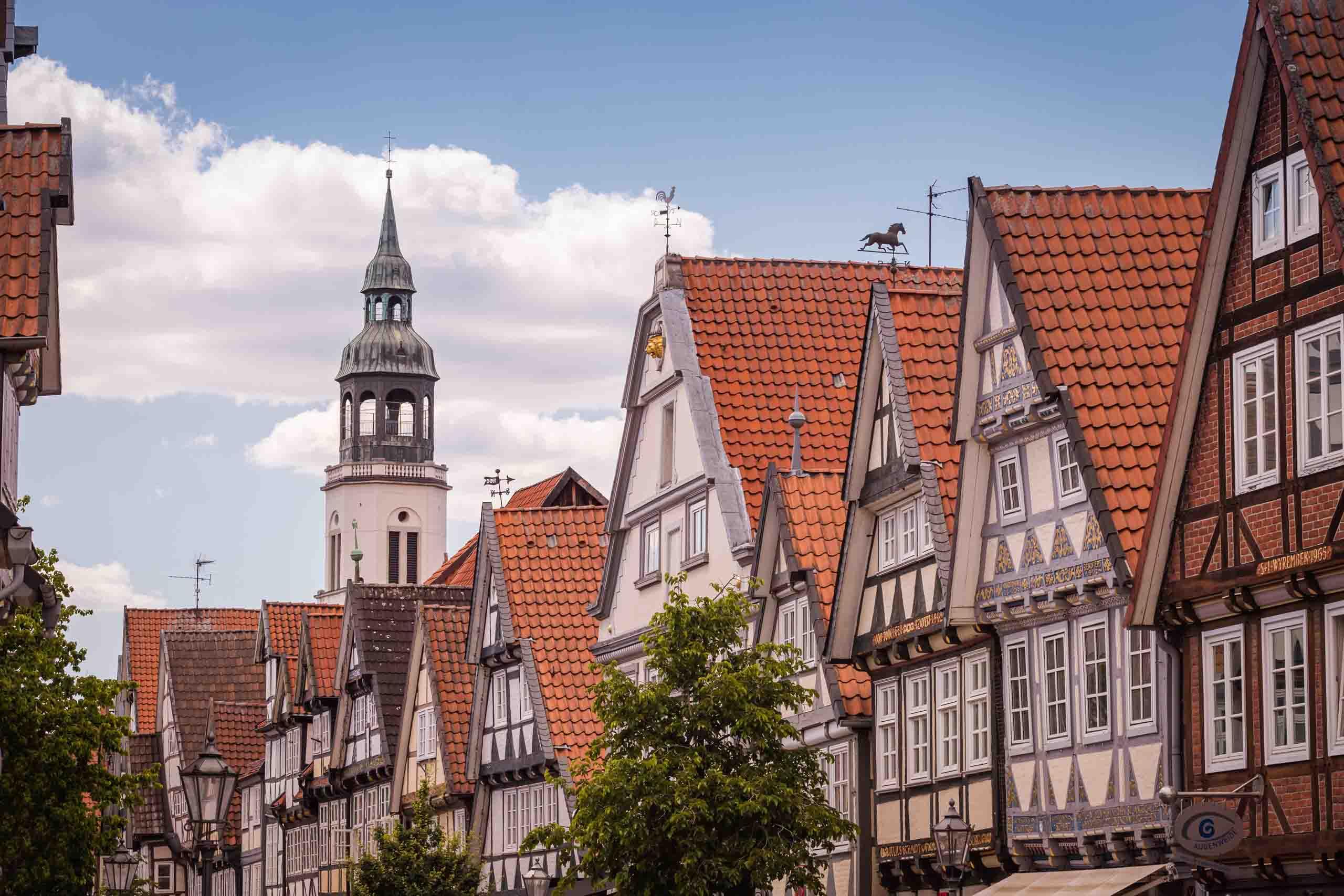 Celle ist eine echte Fachwerkstadt