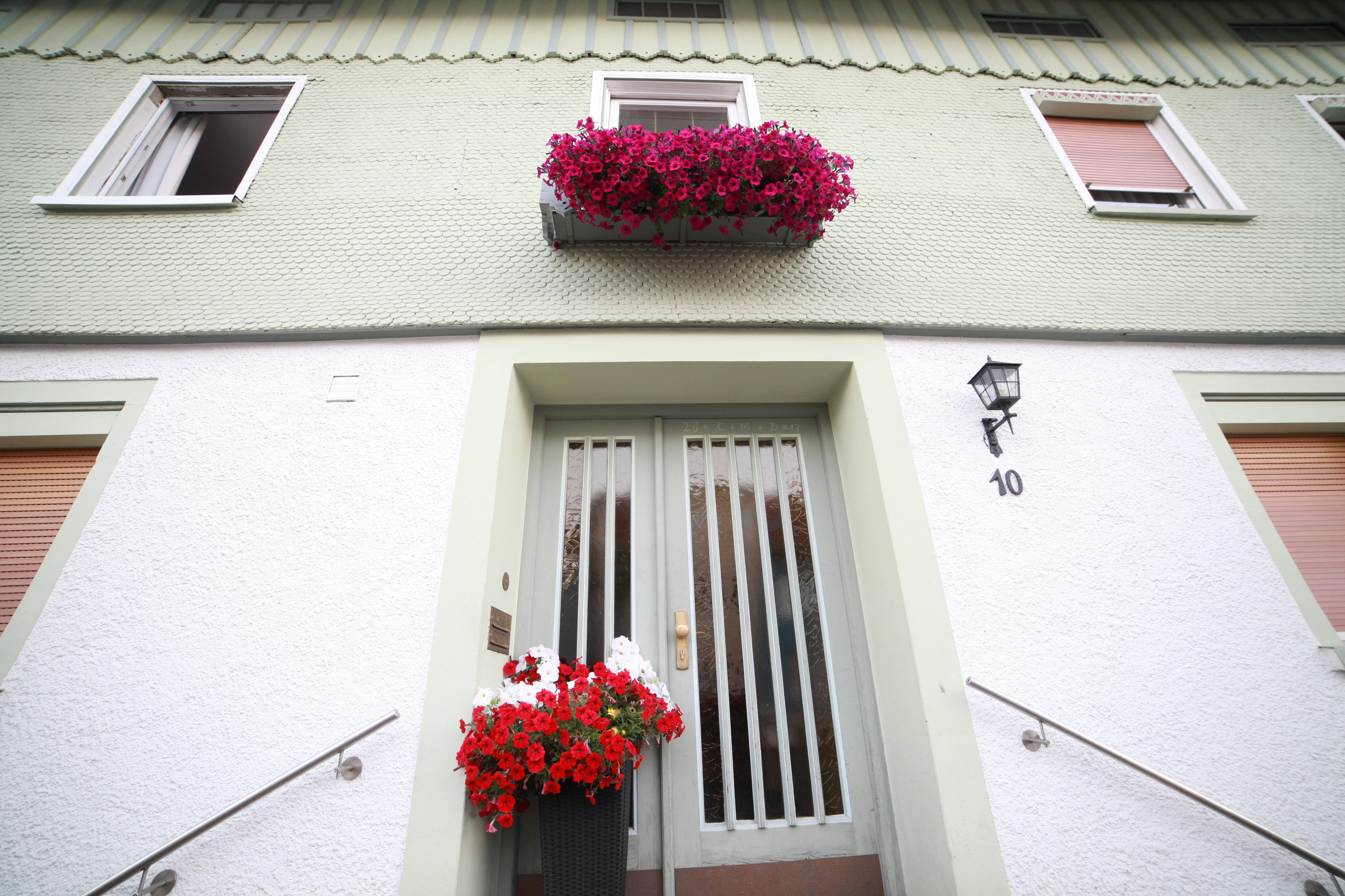Gästehaus Wiedemann, Eingang