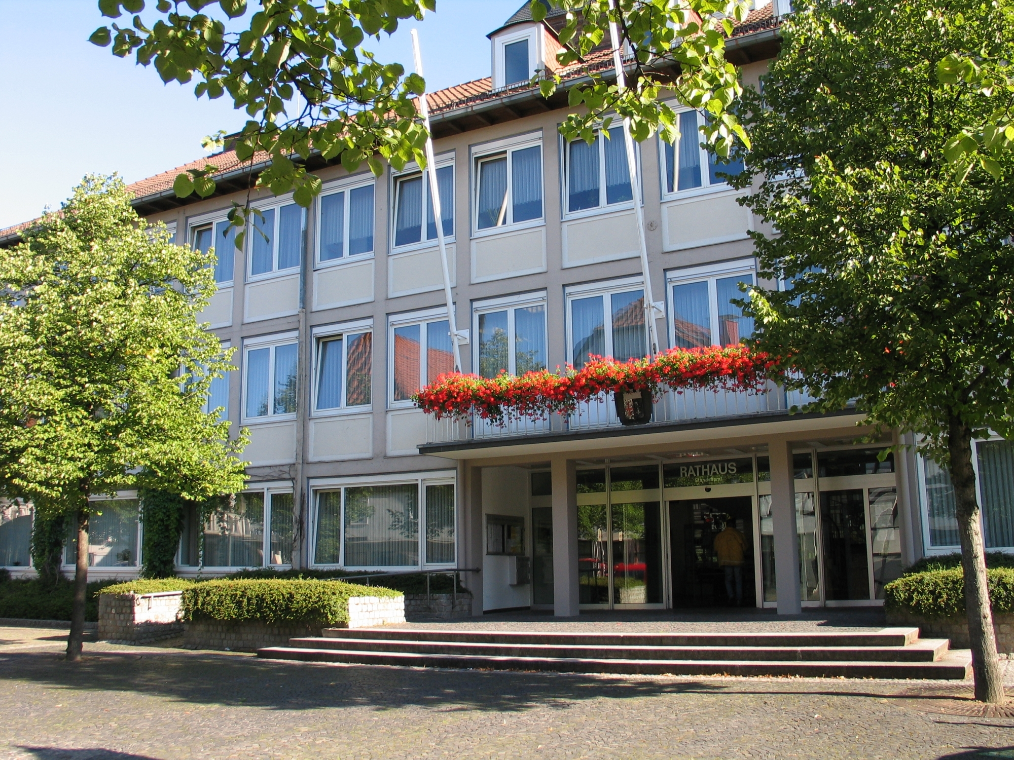 Rathaus mit Tourist Information