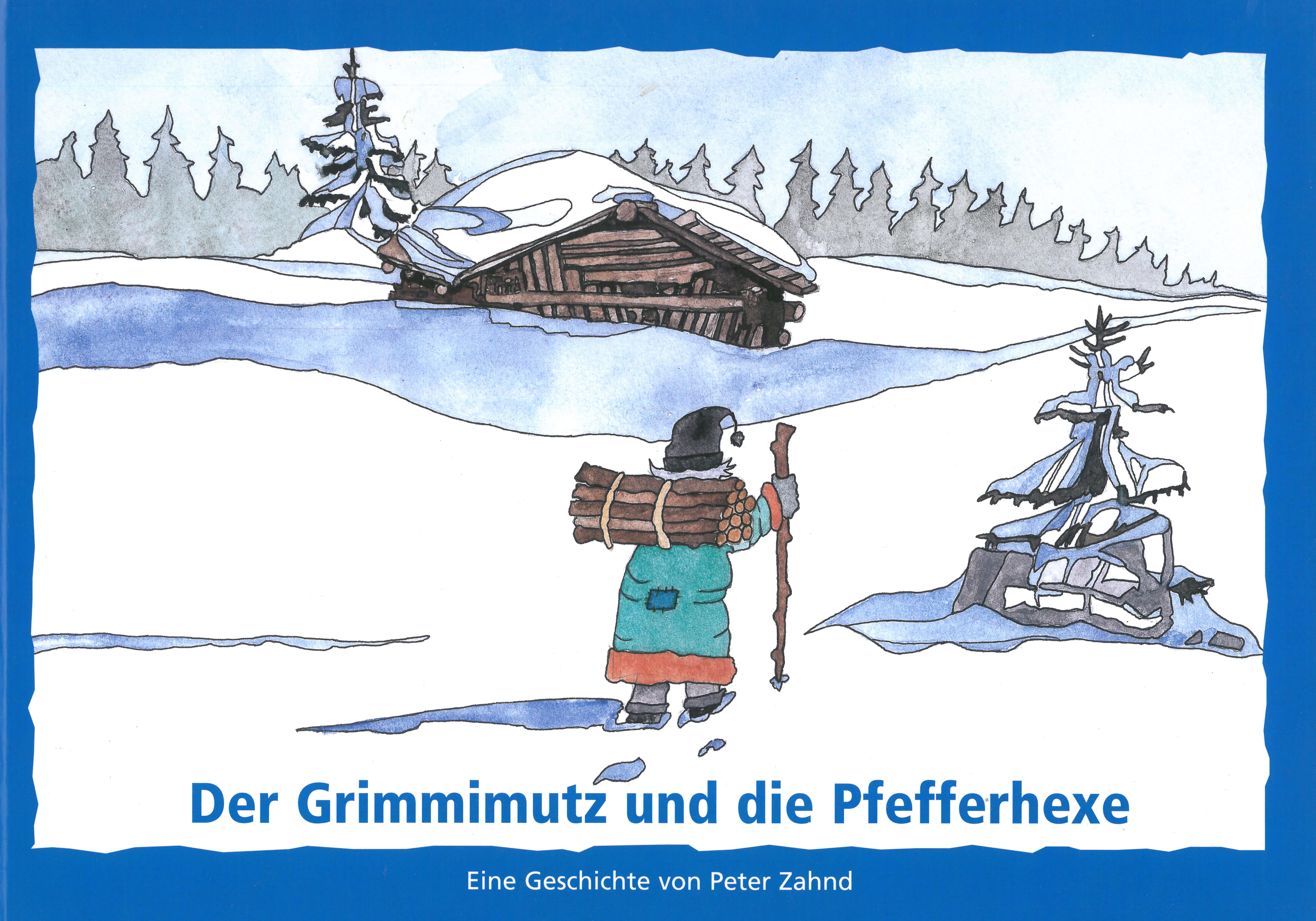 Buch «Grimmimutz und die Pfefferhexe»