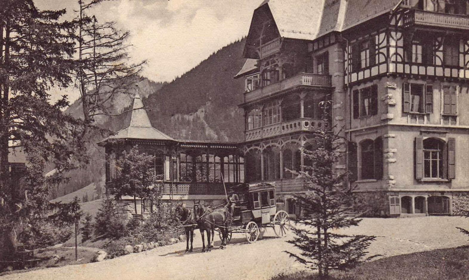 Kurhaus Grimmialp zu Albert Schweitzers Zeiten