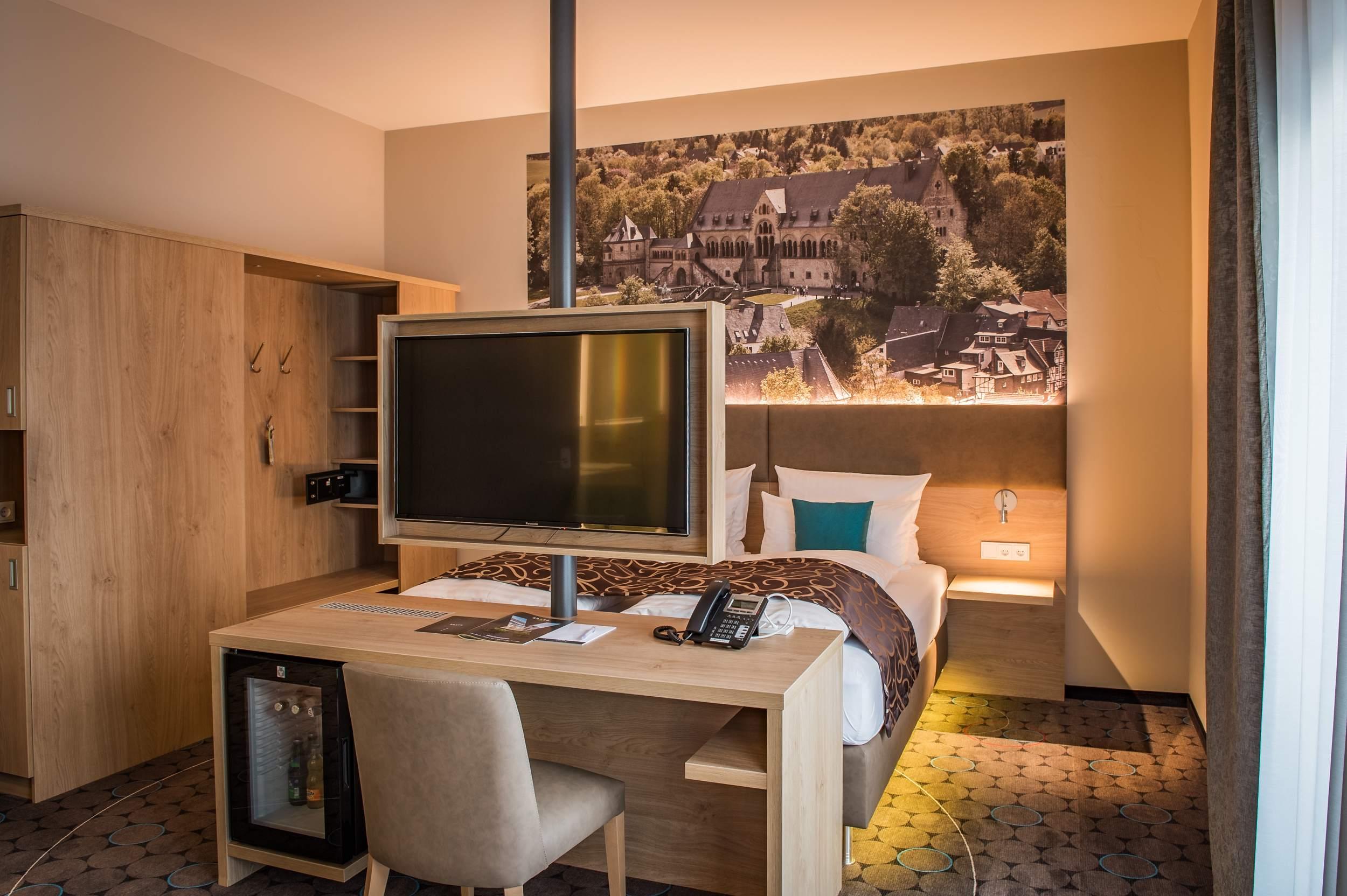 Hotel Villa Saxer Goslar - Schreibtisch