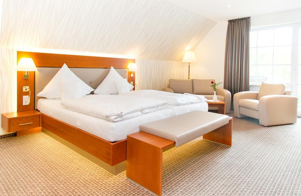Doppelzimmer im Ringhotel Teutoburger Wald in Tecklenburg Brochterbeck