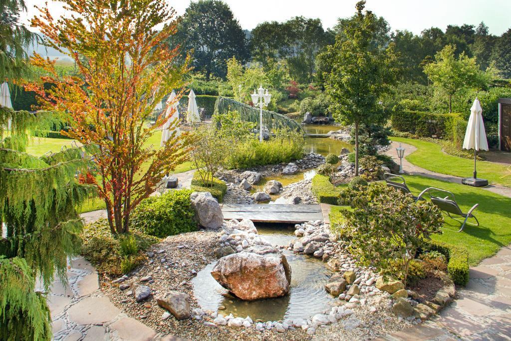Garten des Ringhotel Teutoburger Wald in Tecklenburg Brochterbeck