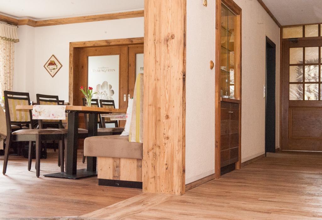 Landhaus Blumengarten: Frühstücksraum