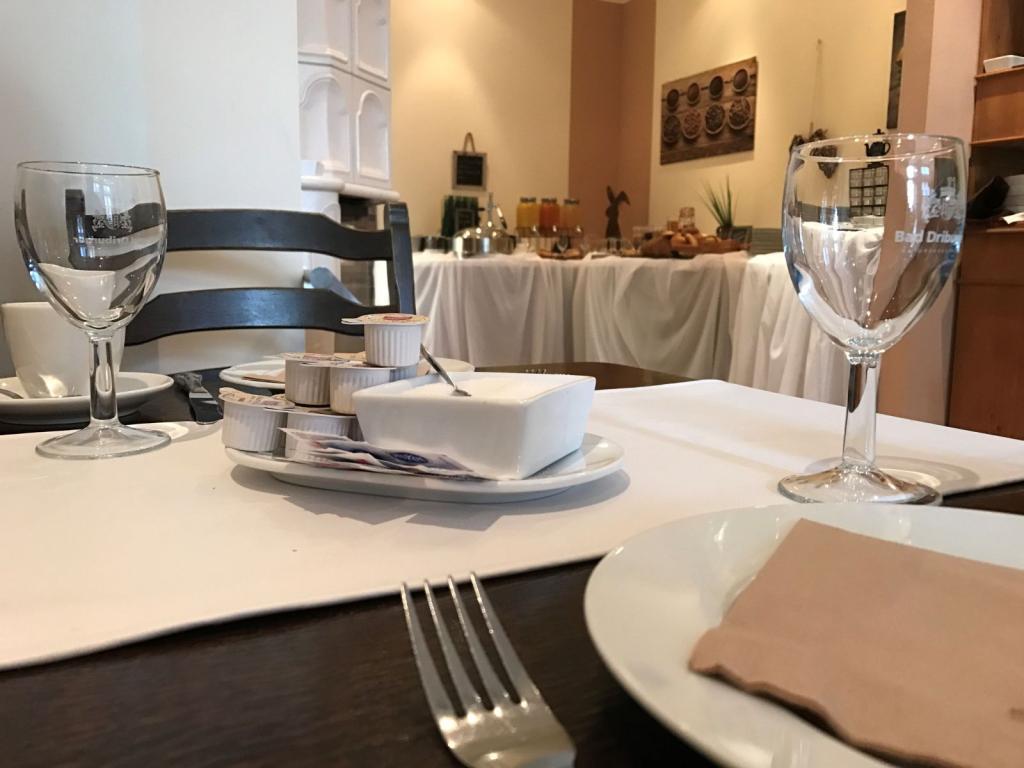 Frühstückstisch im Hotel Riesenbeck