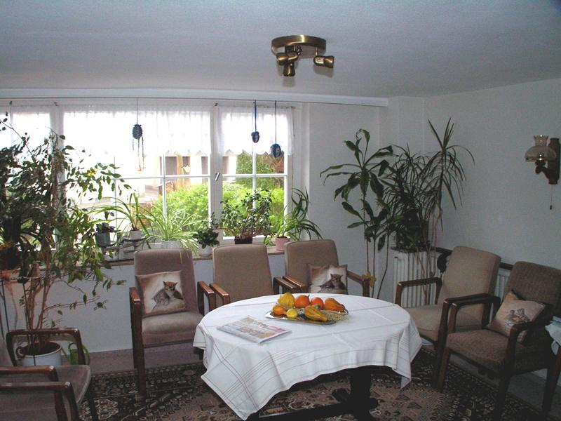 Fernsehzimmer im Haus Haase Bad Meinberg