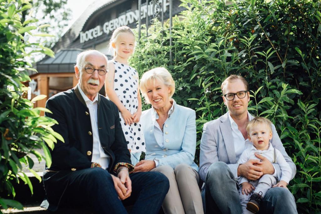 Familie Seidensticker vom Germanenhof Sandebeck