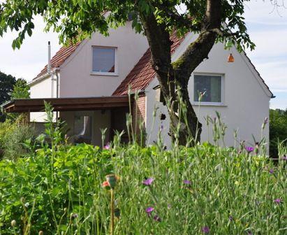 Haus mit Garten Ferienhaus Rosenwinkel am Silberbach