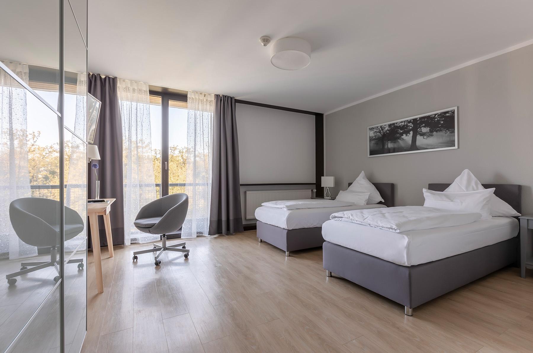 Doppelzimmer im Haus Neuland