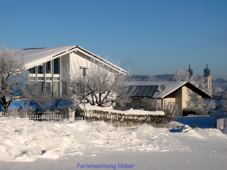 Ferienwohnung Huber in Lindenberg im Allgäu - im Winter