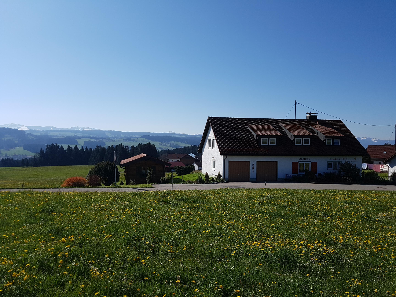 Haus Sonnenschein in Ruppenmanklitz (zwischen Lindenberg und Weiler)