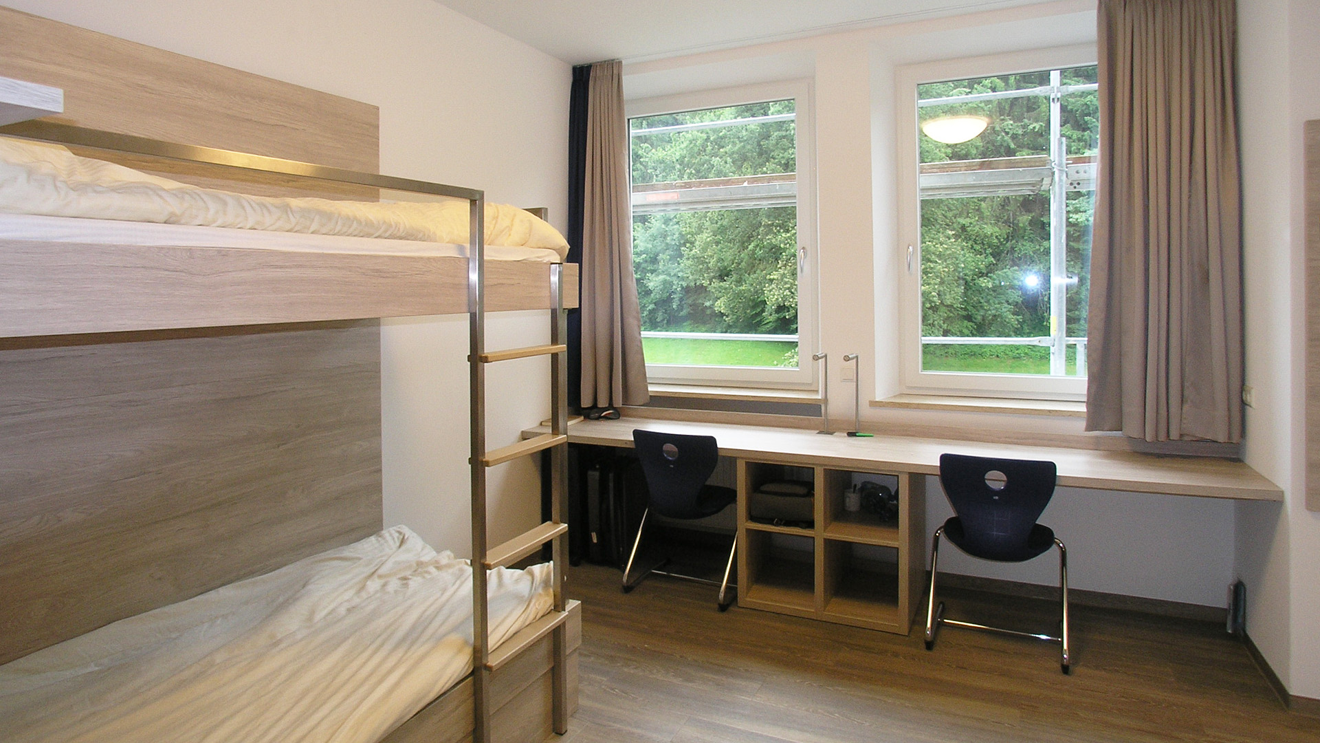 Humboldt-Jugendgästehaus, Zweibettzimmer