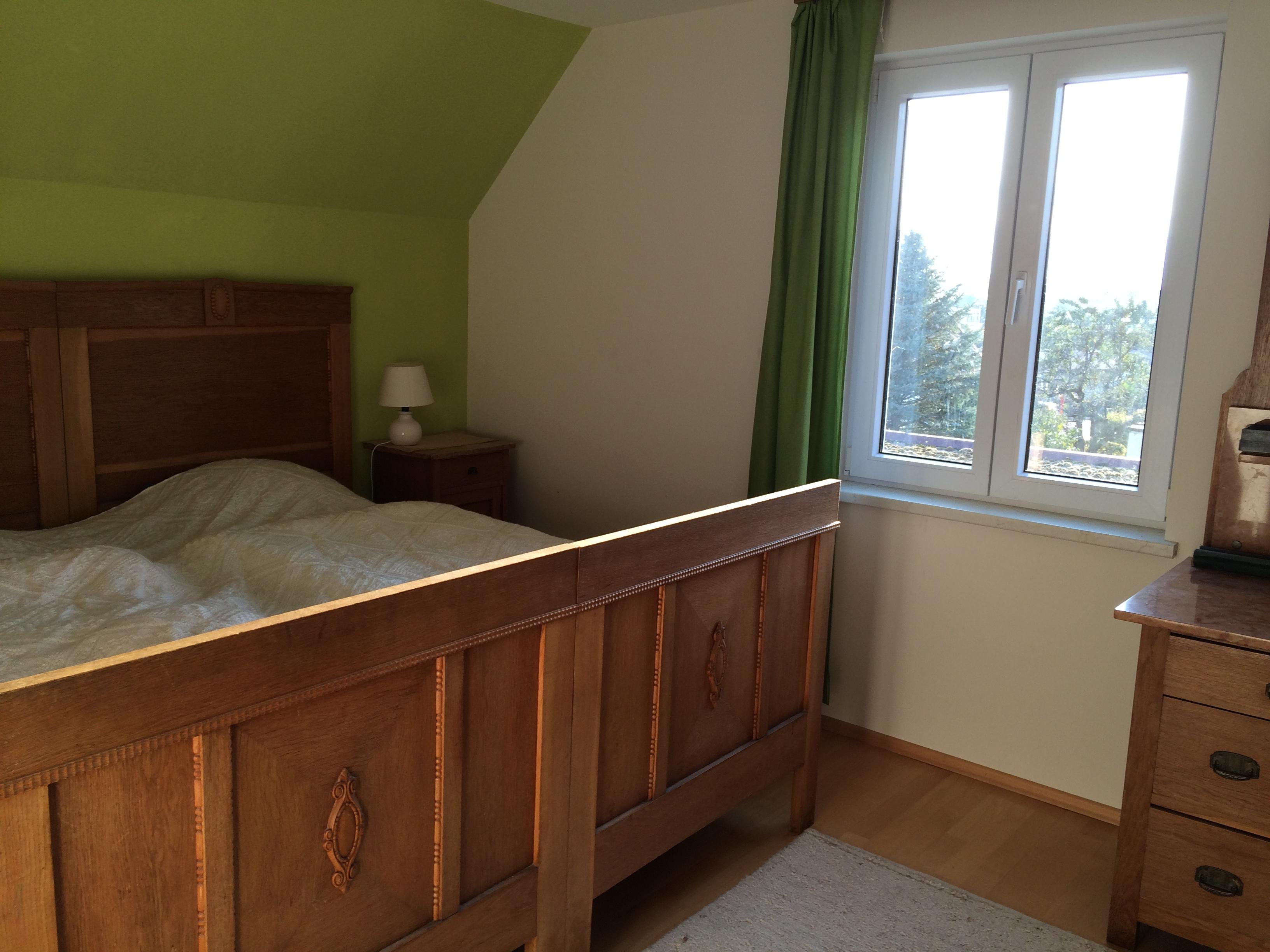 Haus Sonnenhalde, Schlafzimmer