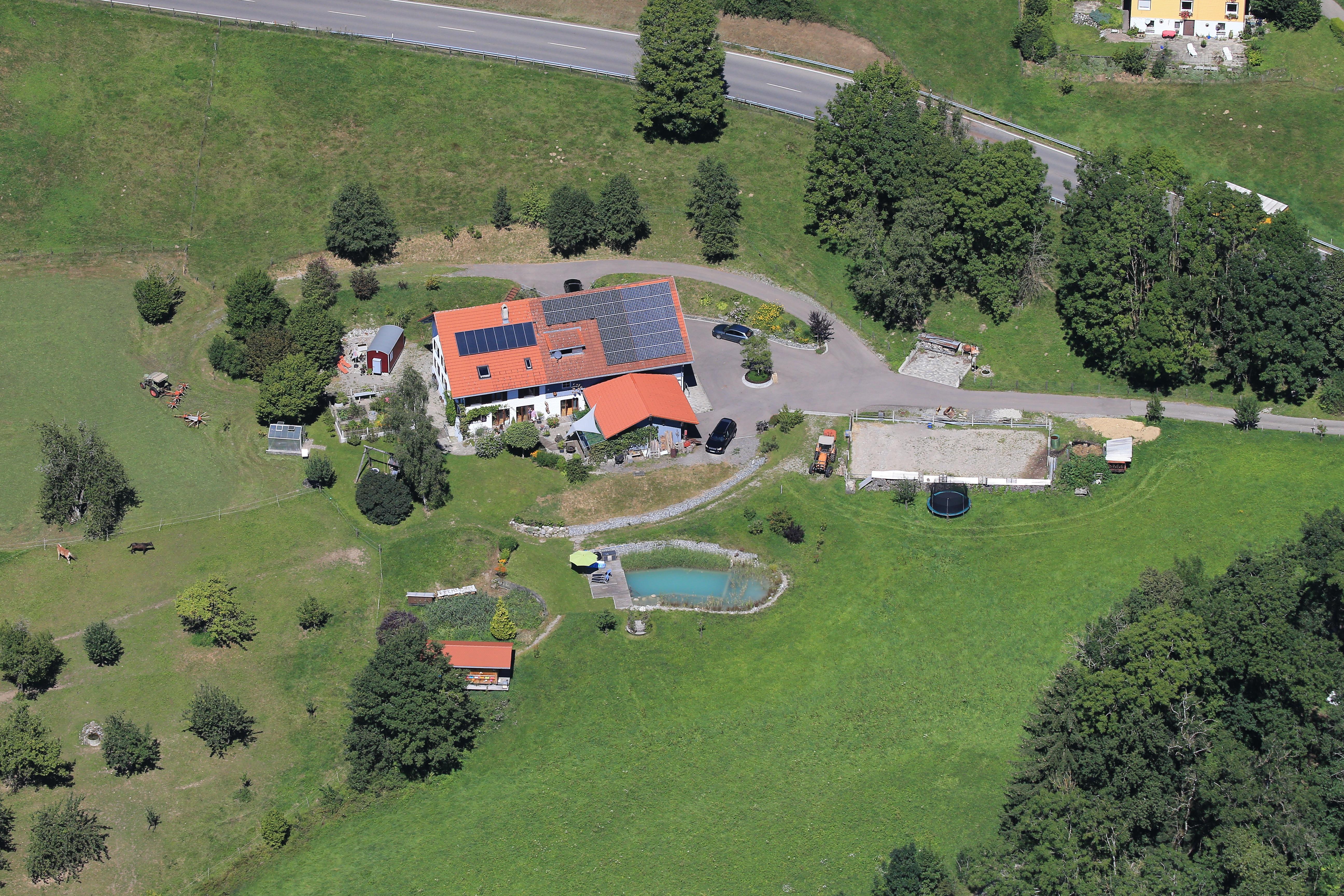 Ferienhof Böller, Luftaufnahme