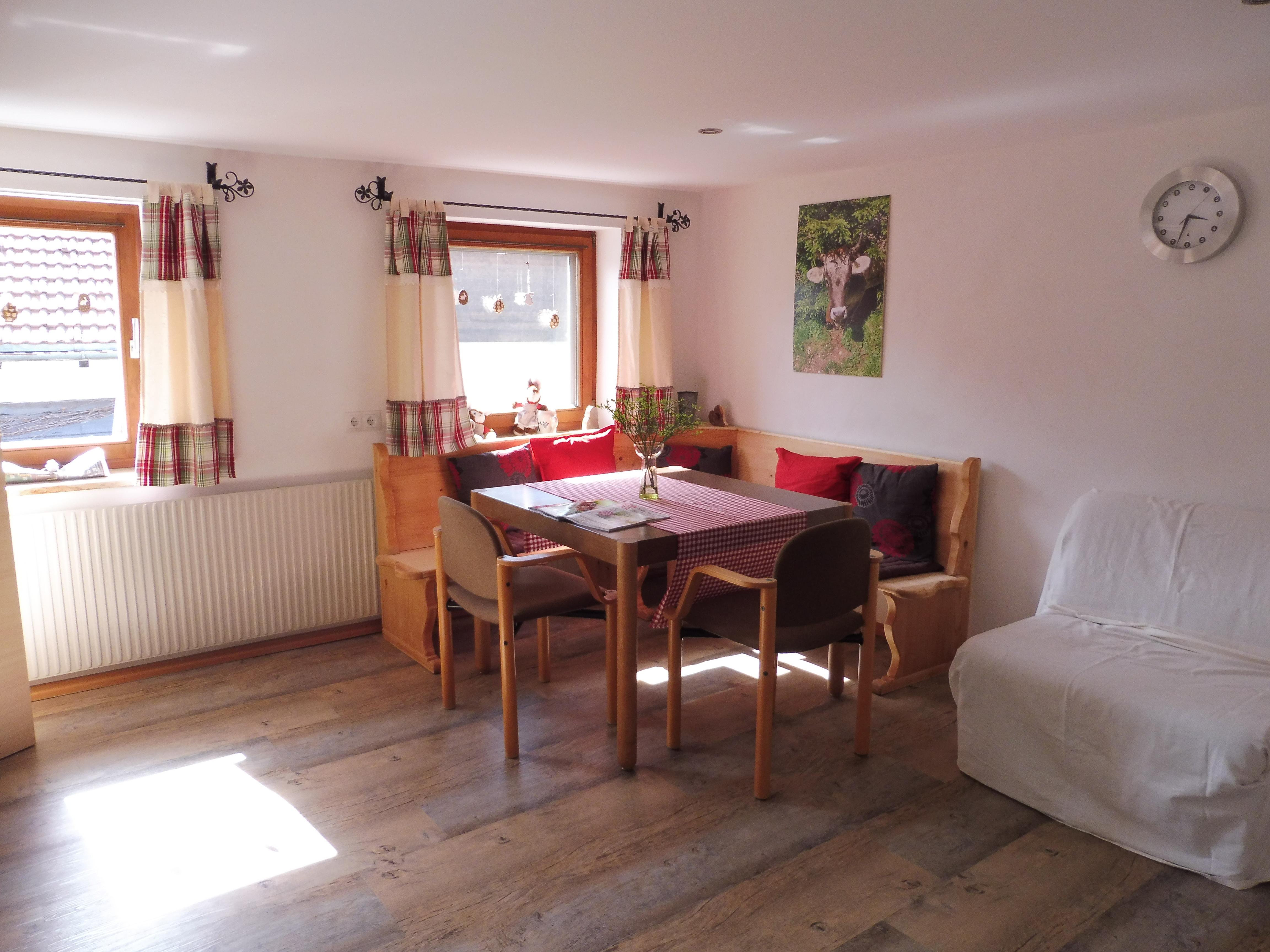 Gästehaus Grath, Essecke
