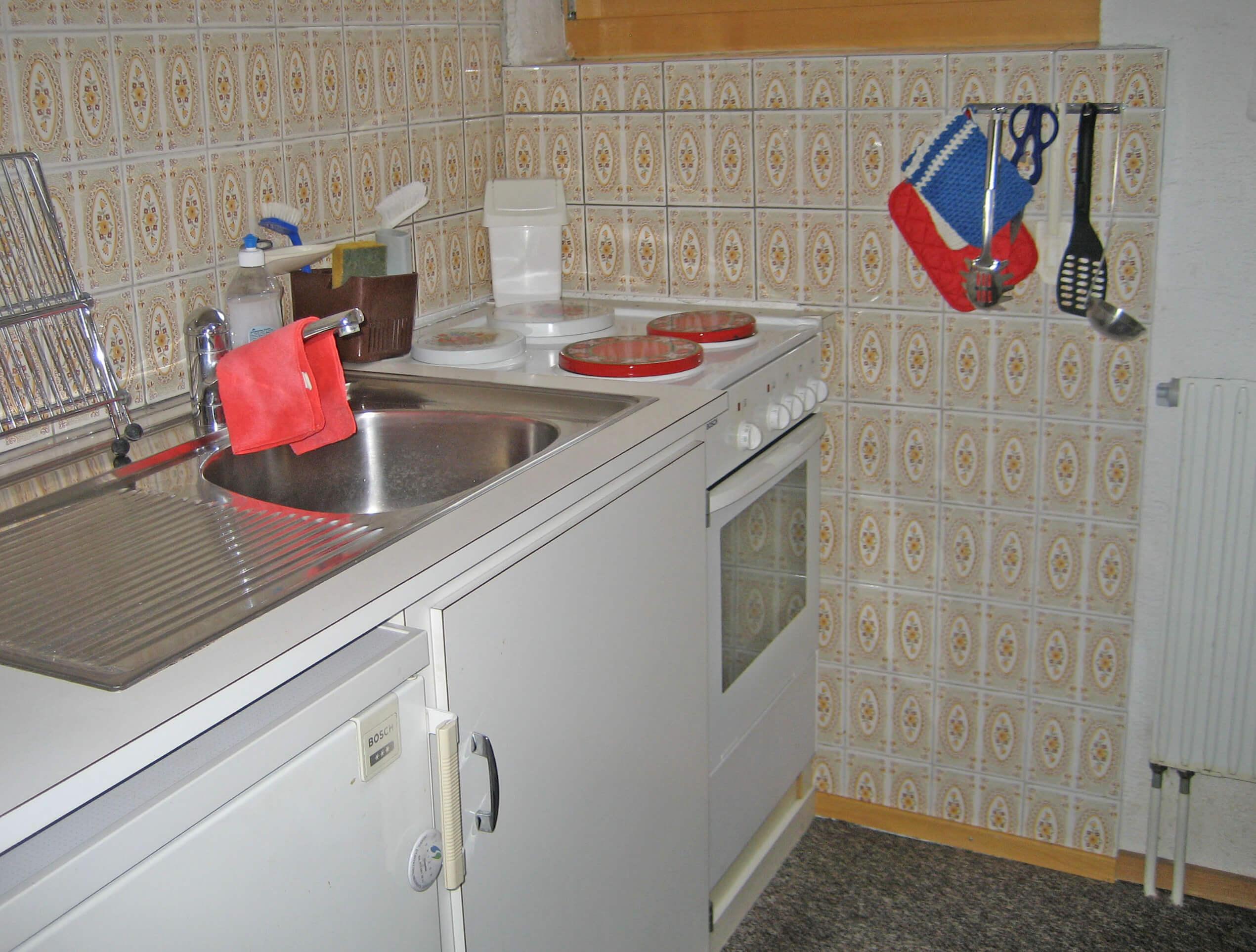 Küche Chalet Barbara