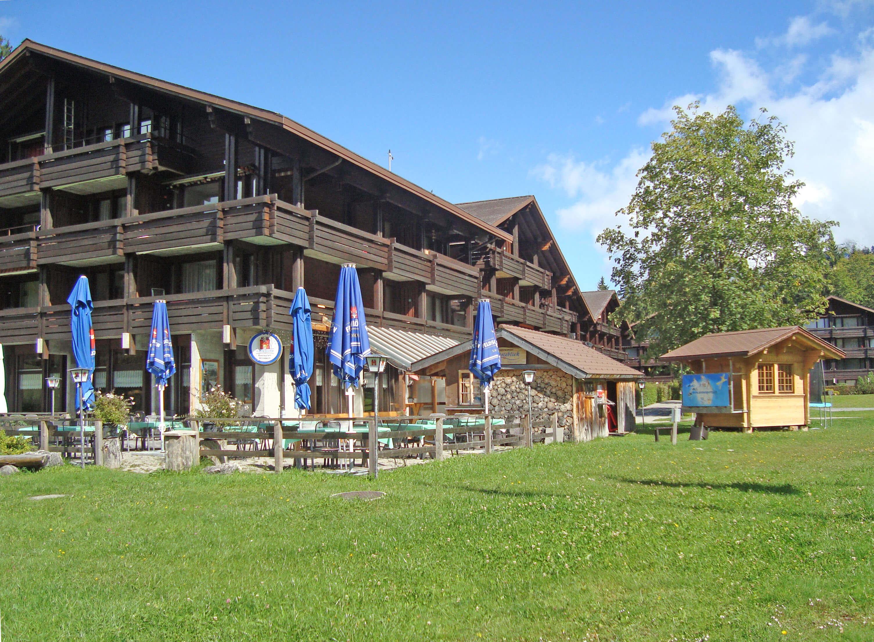 Aussenansicht Restaurant Wirieblick
