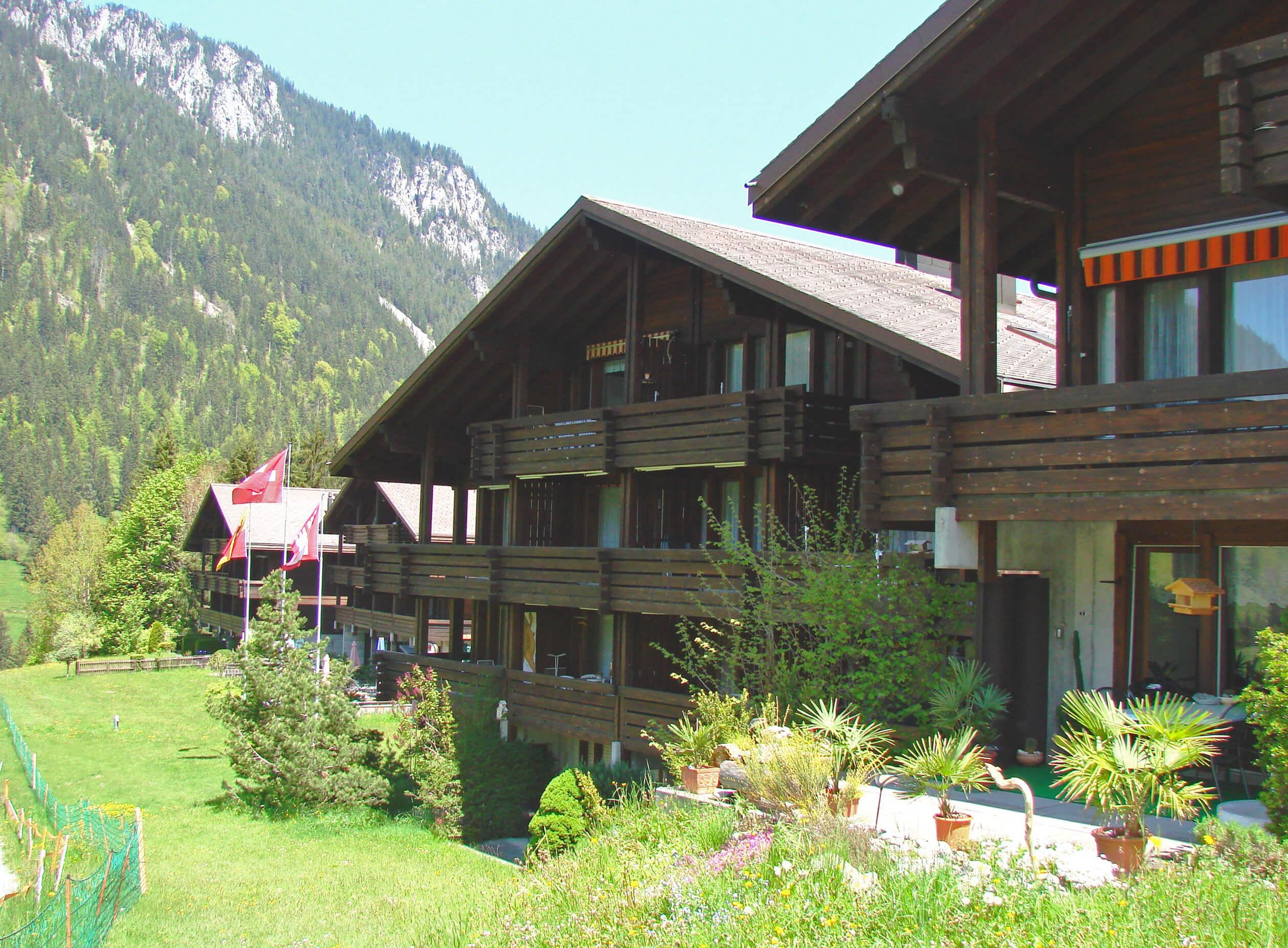 Aussenansicht Haus Barbara Sommer