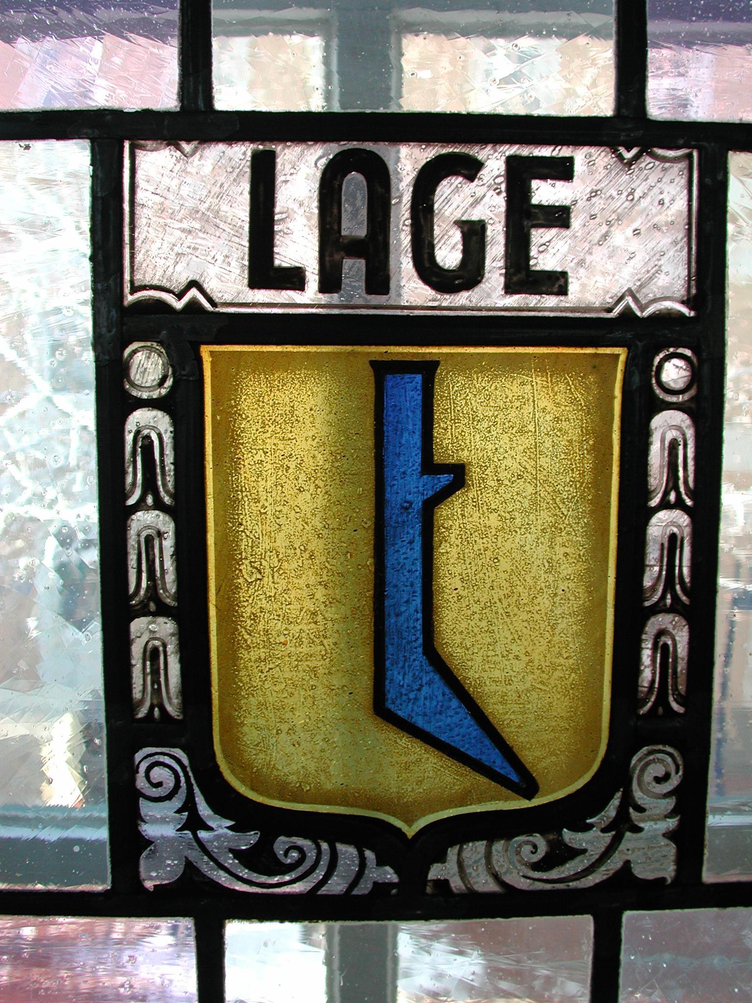 Wappen im Haus Grotebrune