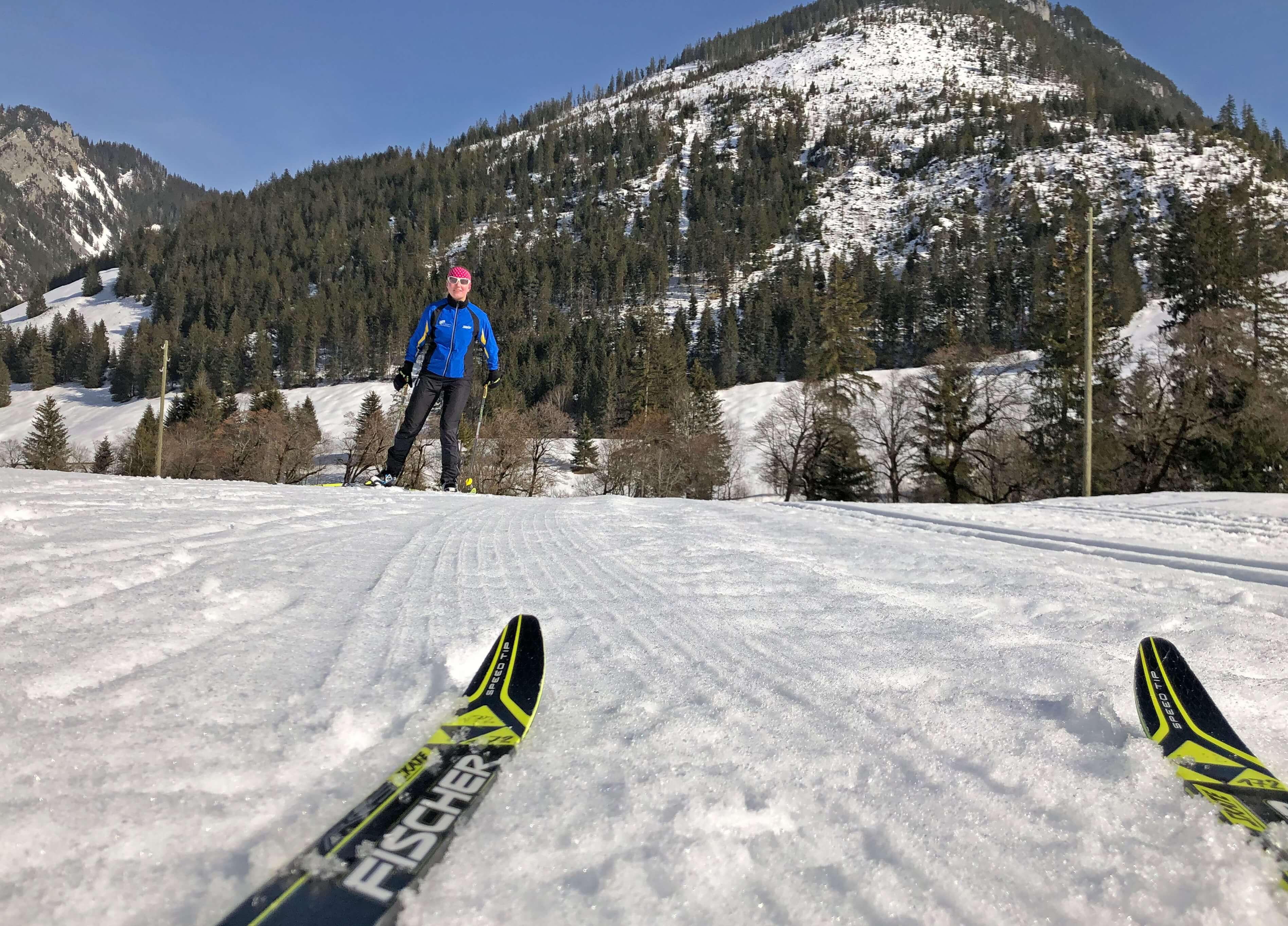 Skatingvergnügen im Naturpark Diemtigtal