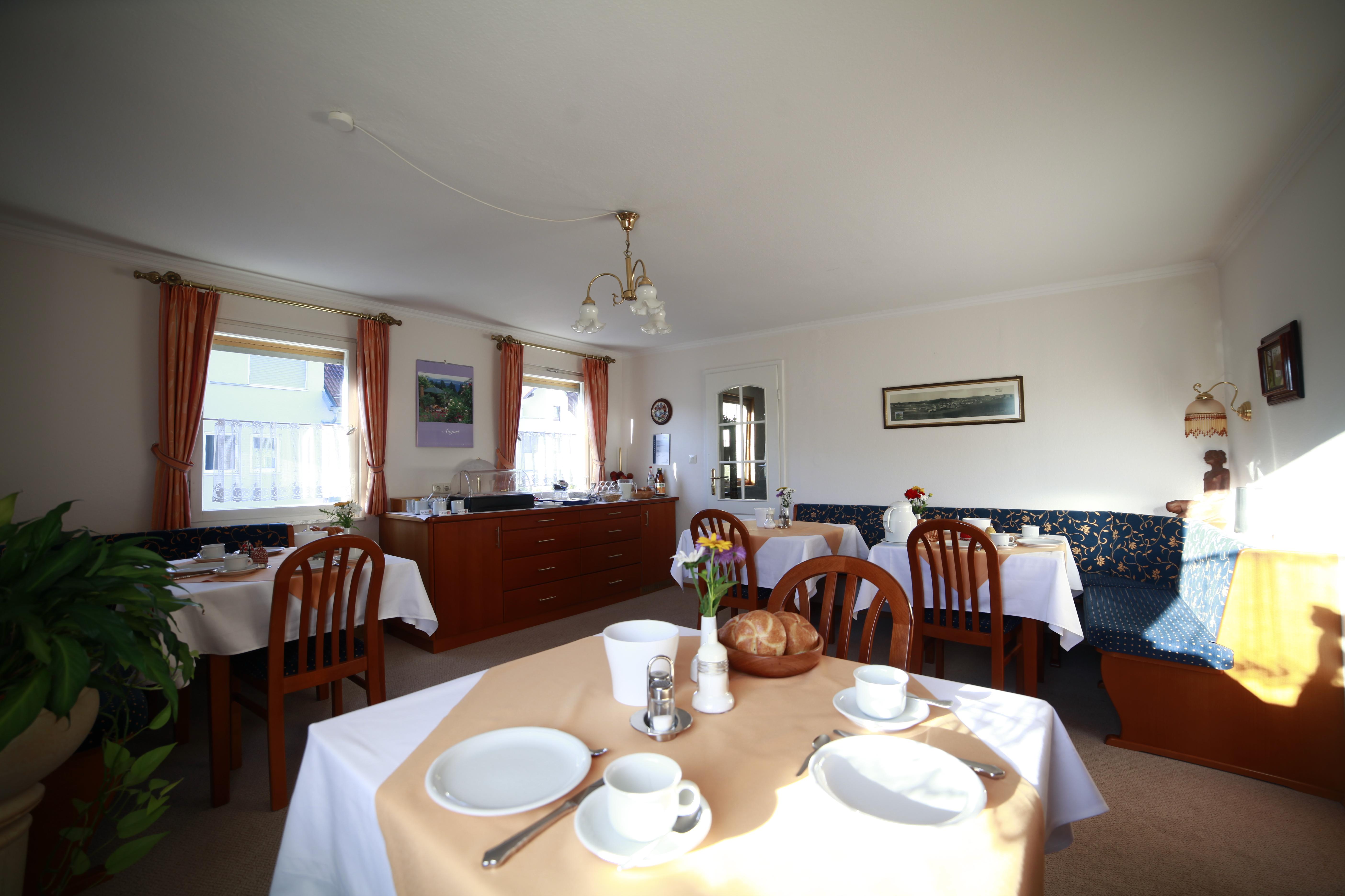 Gästehaus Wiedemann, Frühstücks- und Aufenthaltsraum