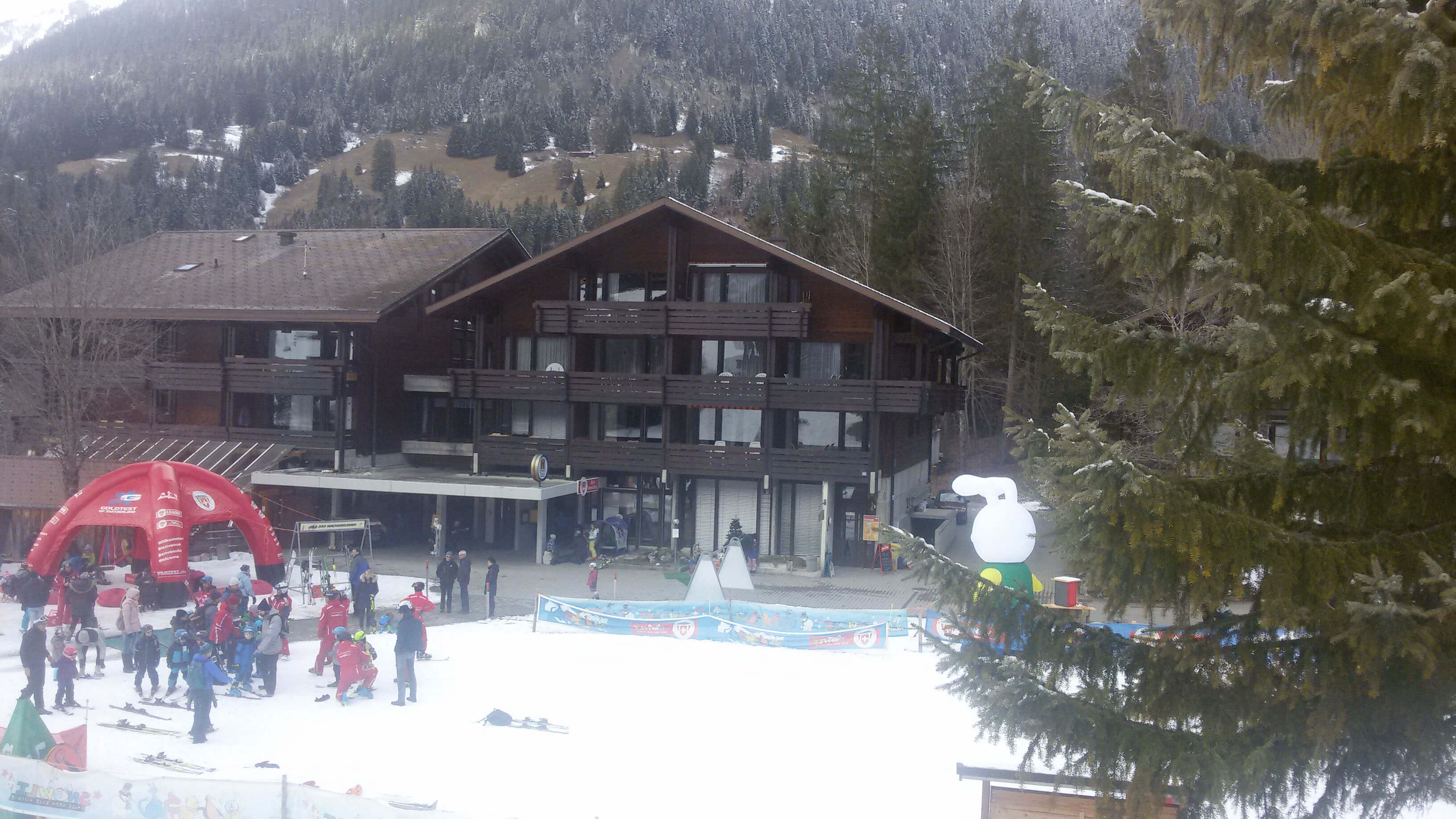 Ferienzentrum Restaurant Skischule Winter Snowli