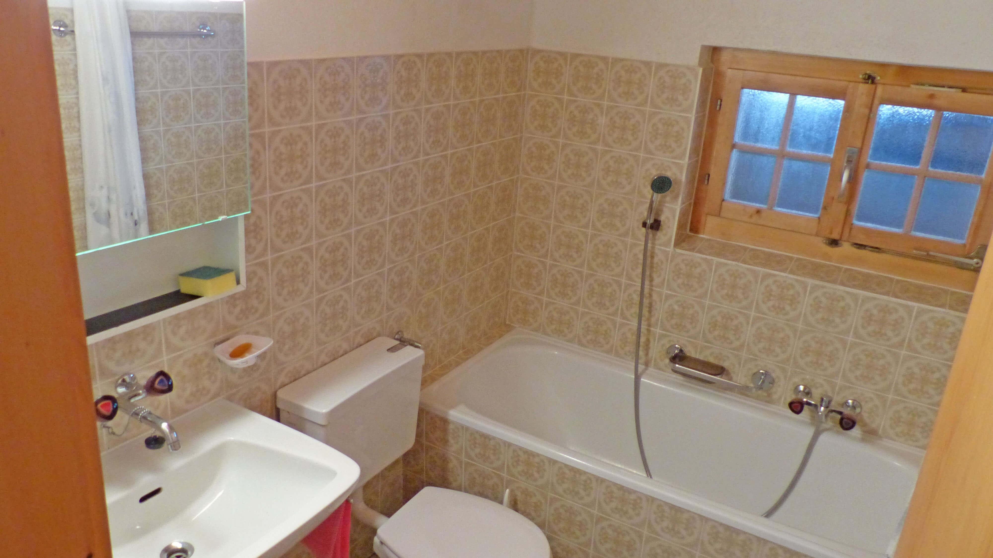 Badezimmer Badewanne