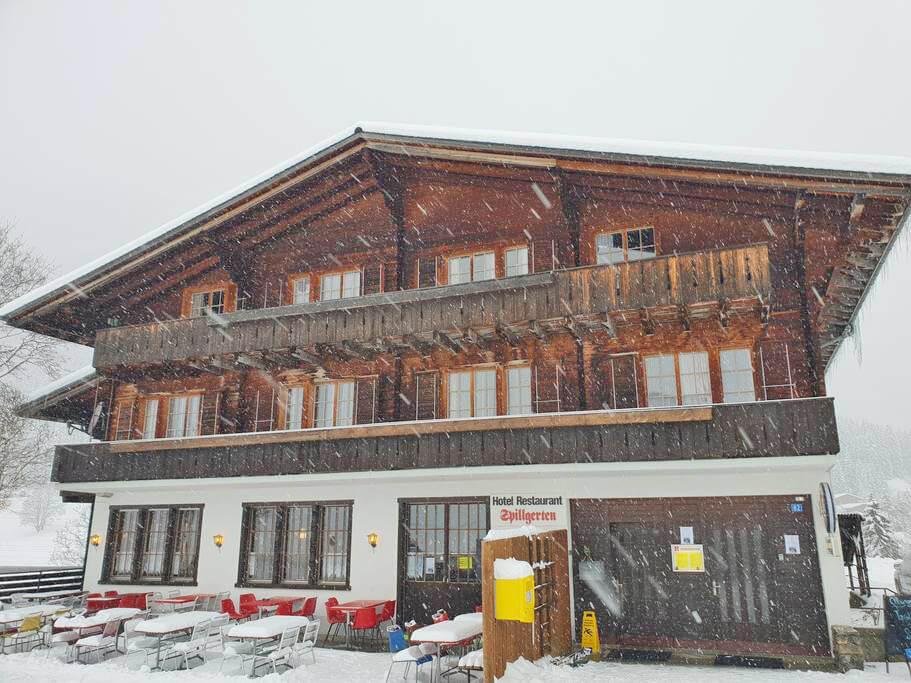 Hotel Spillgerten Schnee Winter