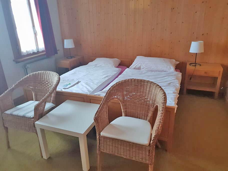 Doppelzimmer Sessel