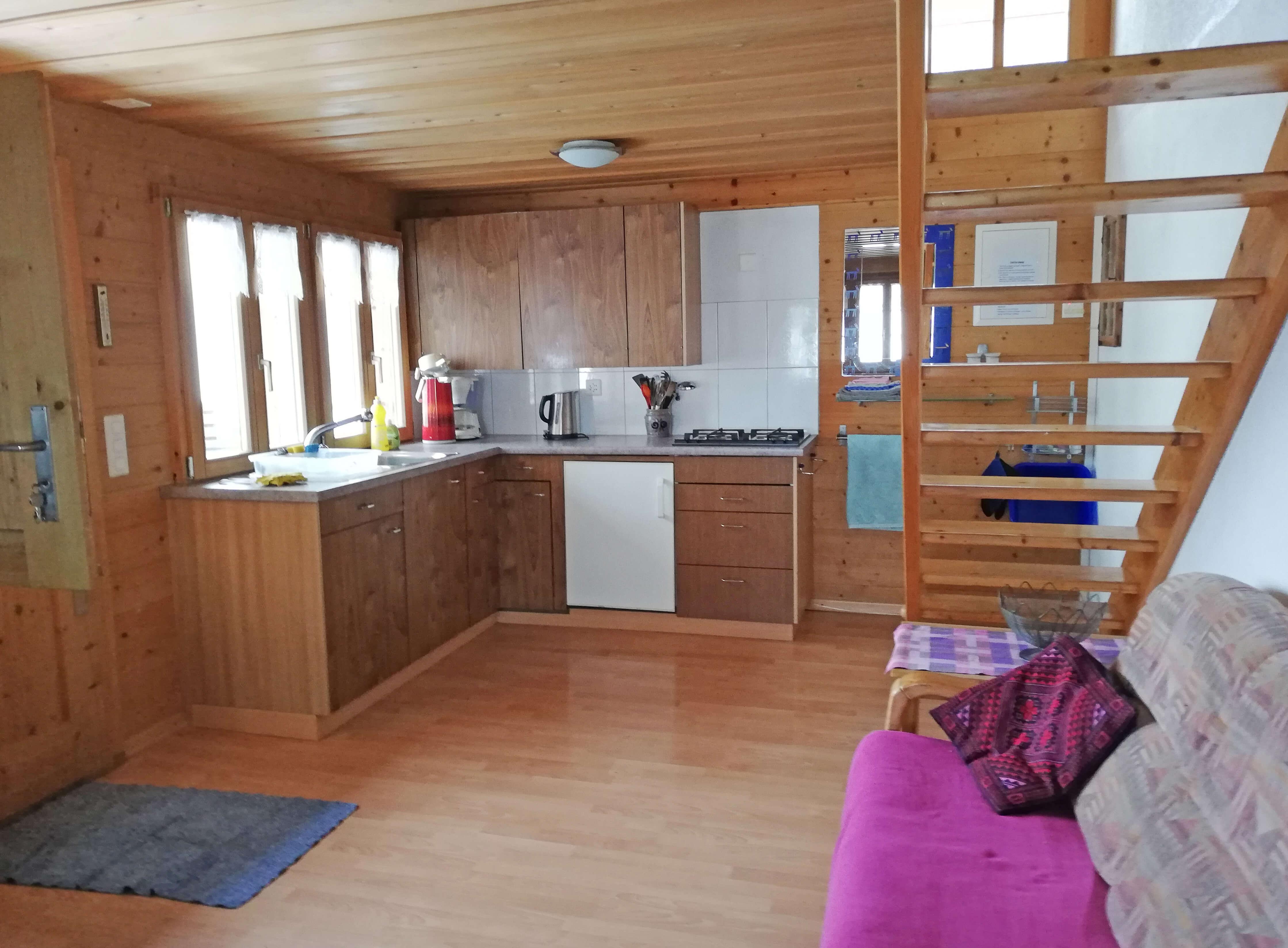 Küche Treppe