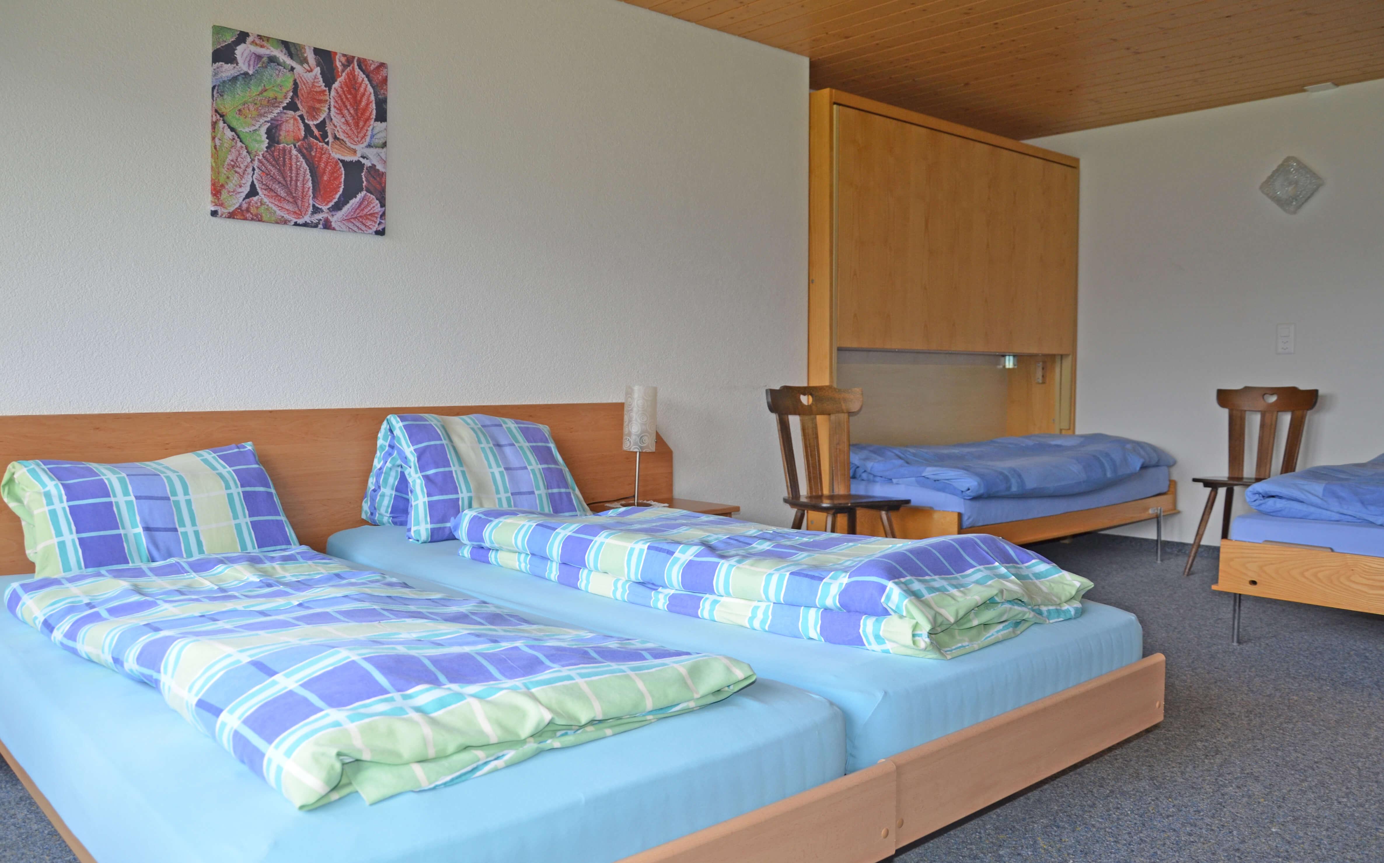 Berghotel Wiriehorn Schlafzimmer Mehrbettzimmer