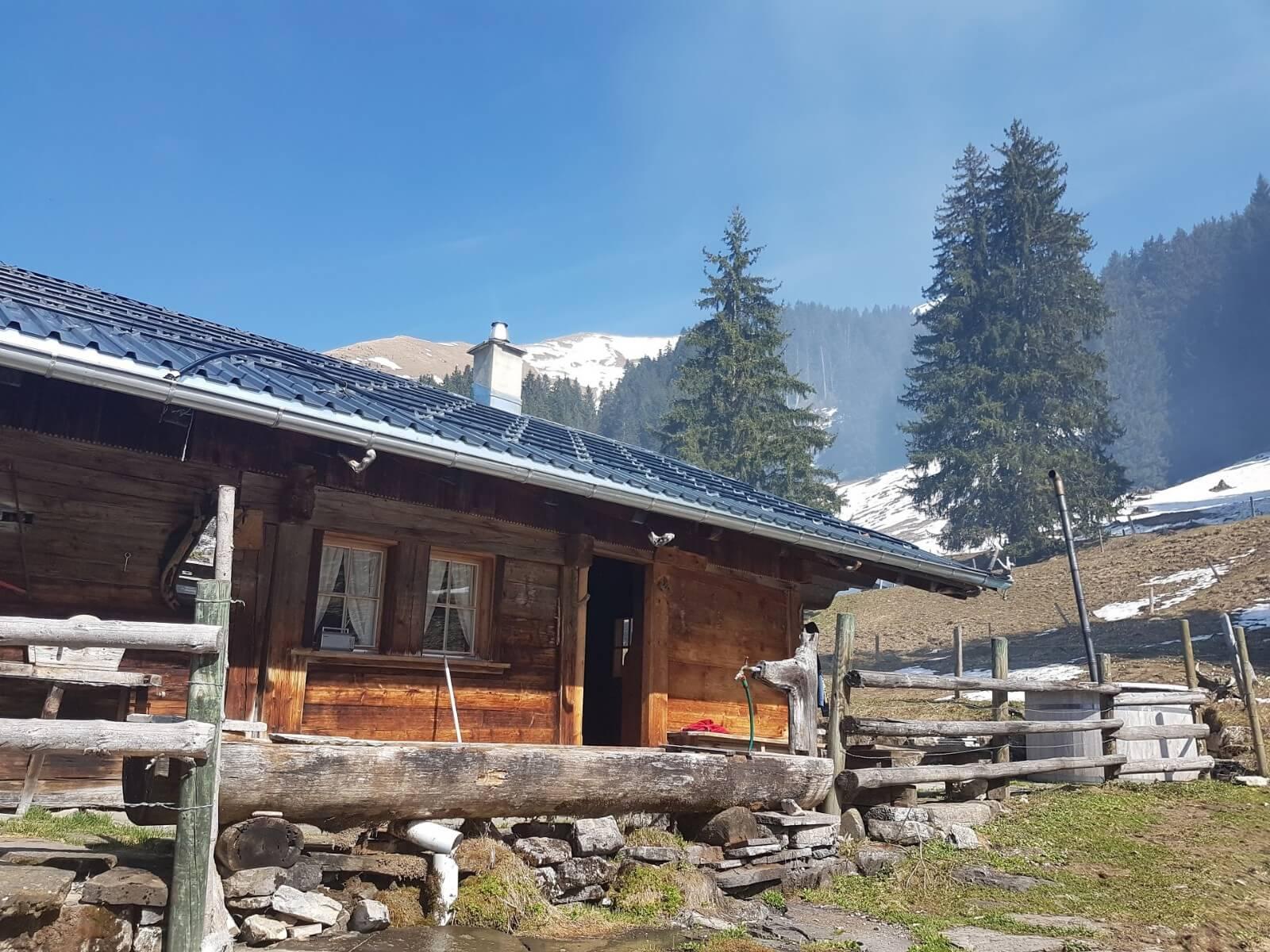 Hütte Brunnen