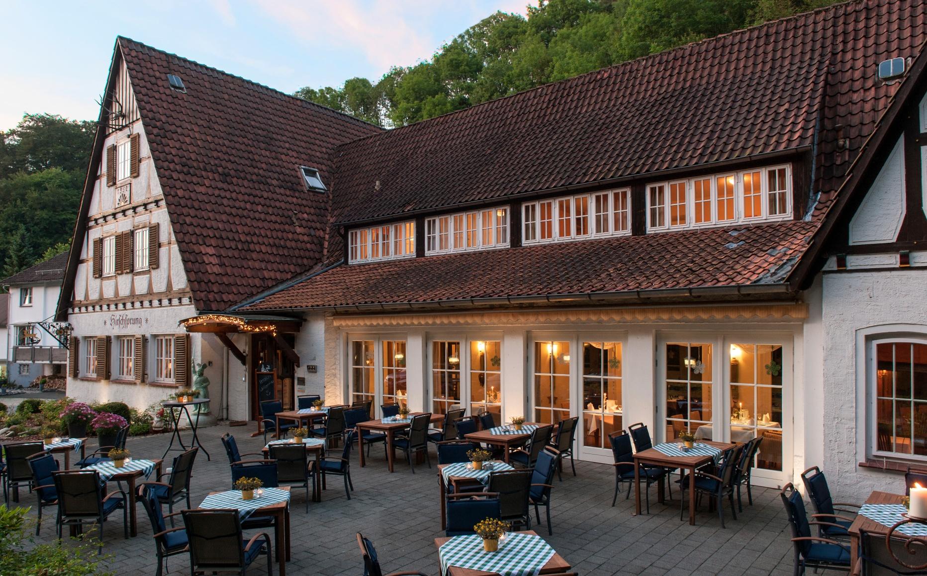 Landhaus Hirschsprung Aussenansicht