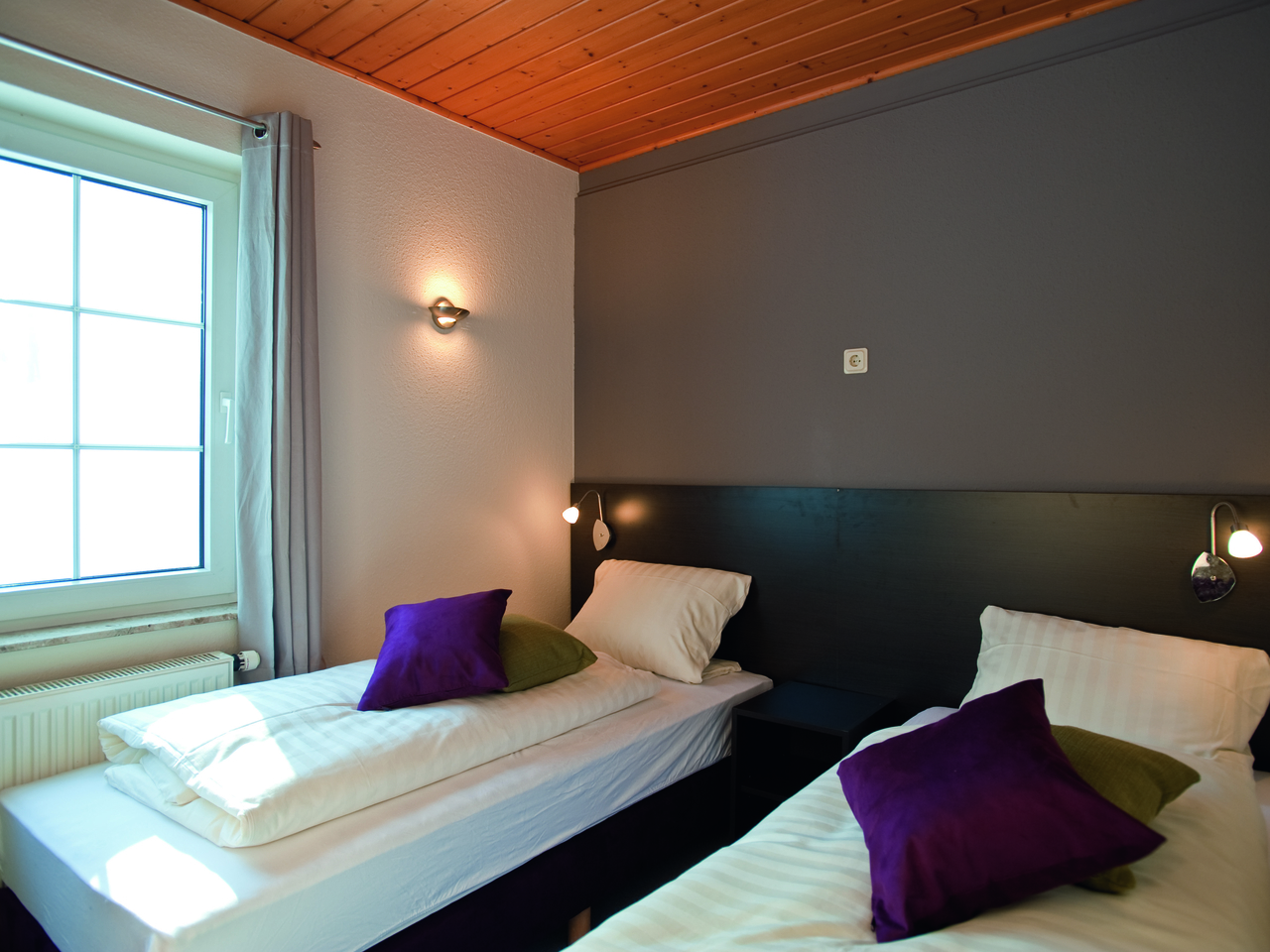 Landal Salztal Paradies in Bad Sachsa - Schlafzimmer im Ferienhaus