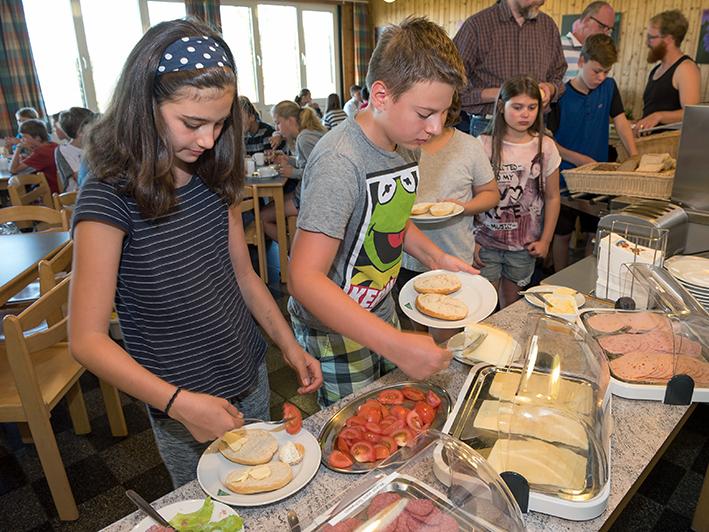 Jugendherberge Braunlage - Frühstücksbuffet