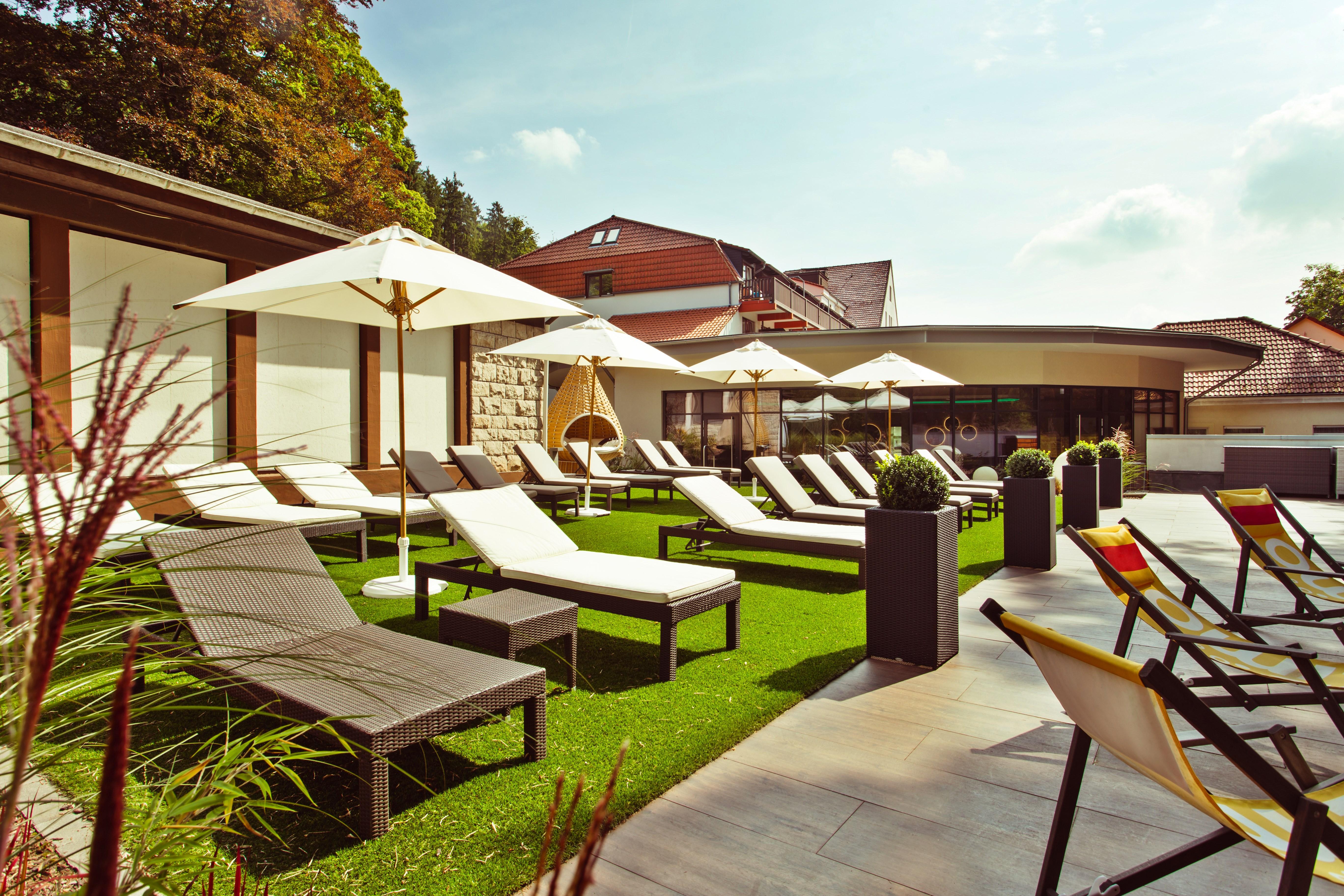 Göbel´s Vital Hotel Bad Sachsa - Liegewiese