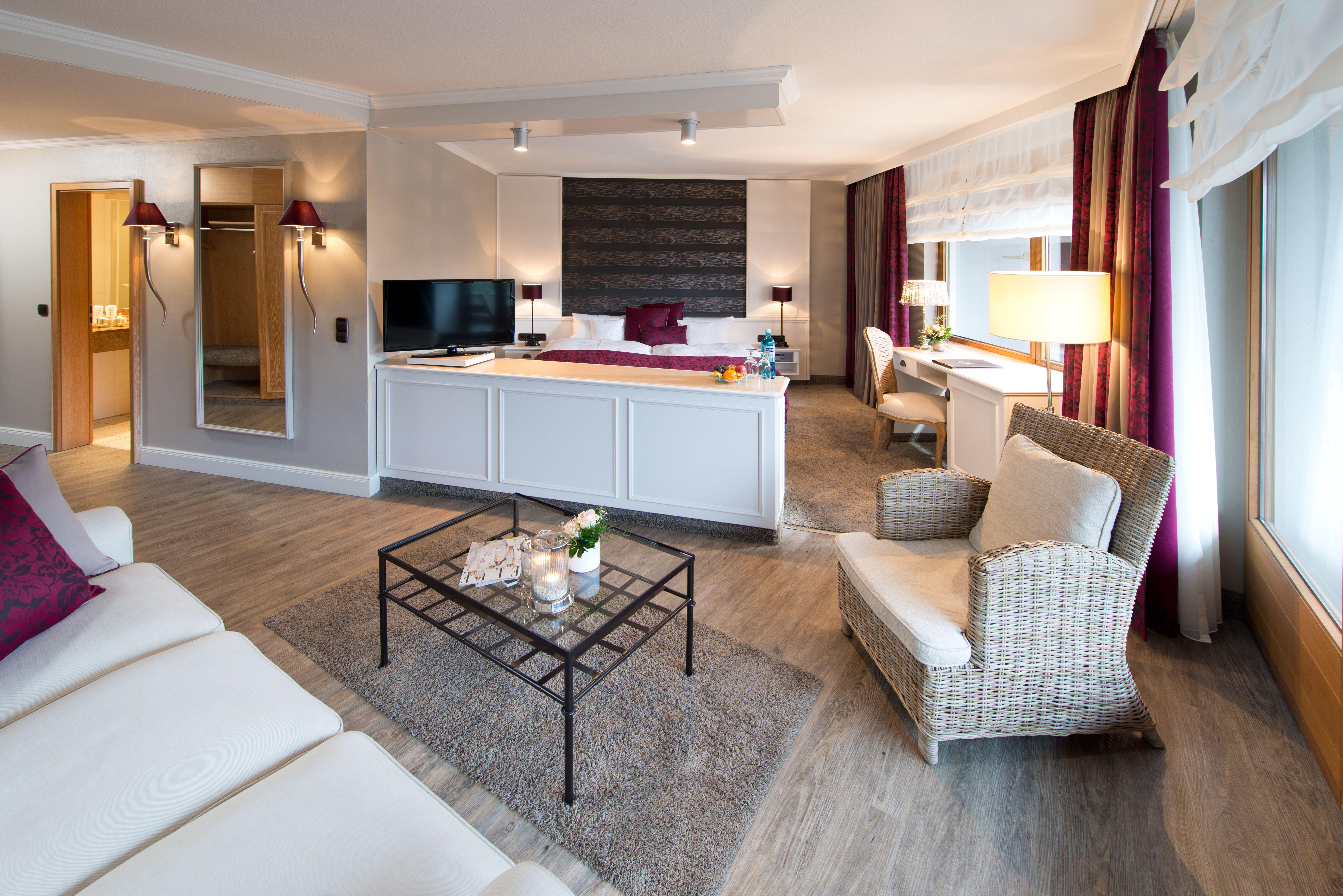 Romantischer Winkel - RoLigio & Wellness Resort - Suite