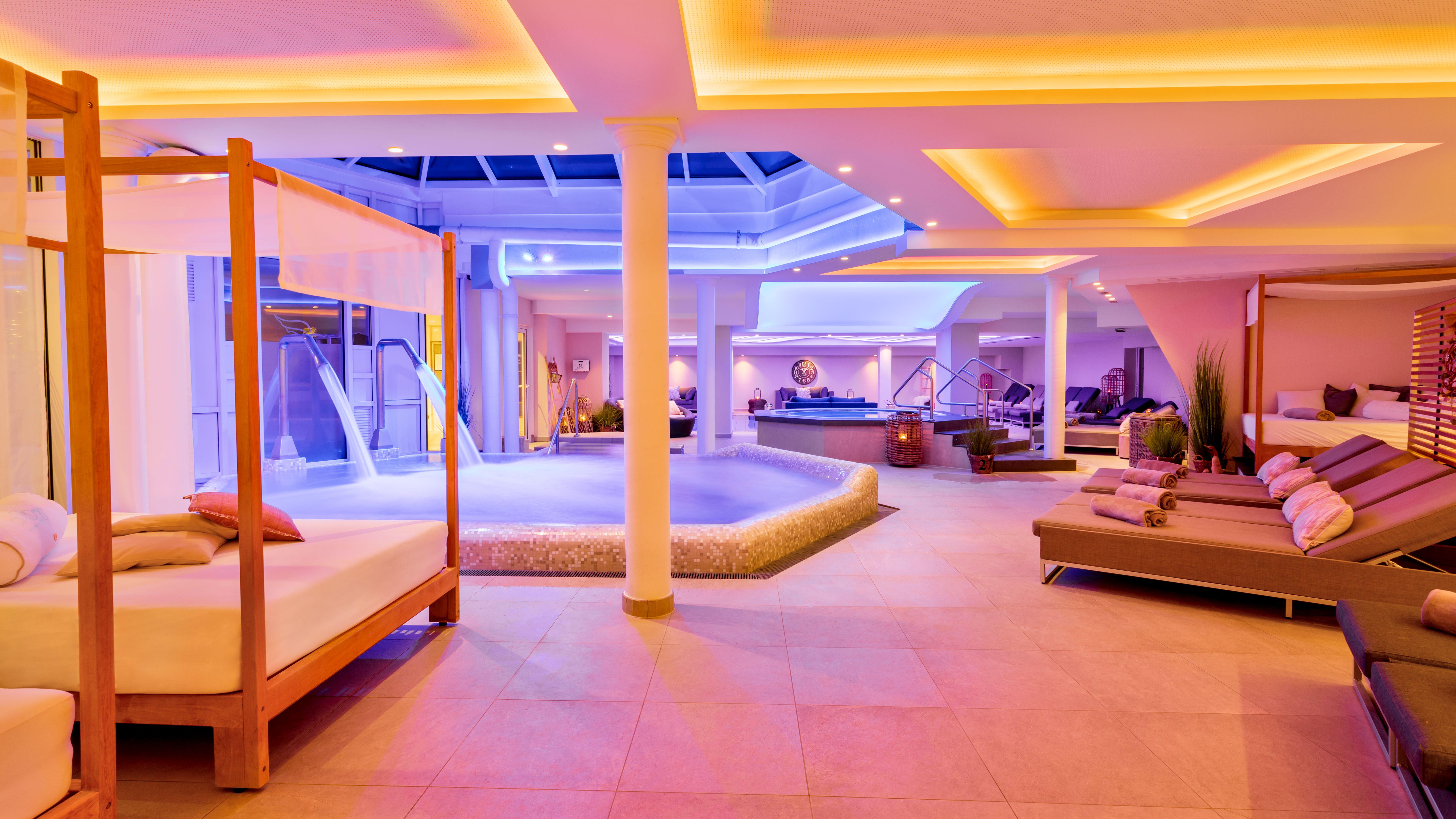 Romantischer Winkel - RoLigio & Wellness Resort - Wellnessbereich