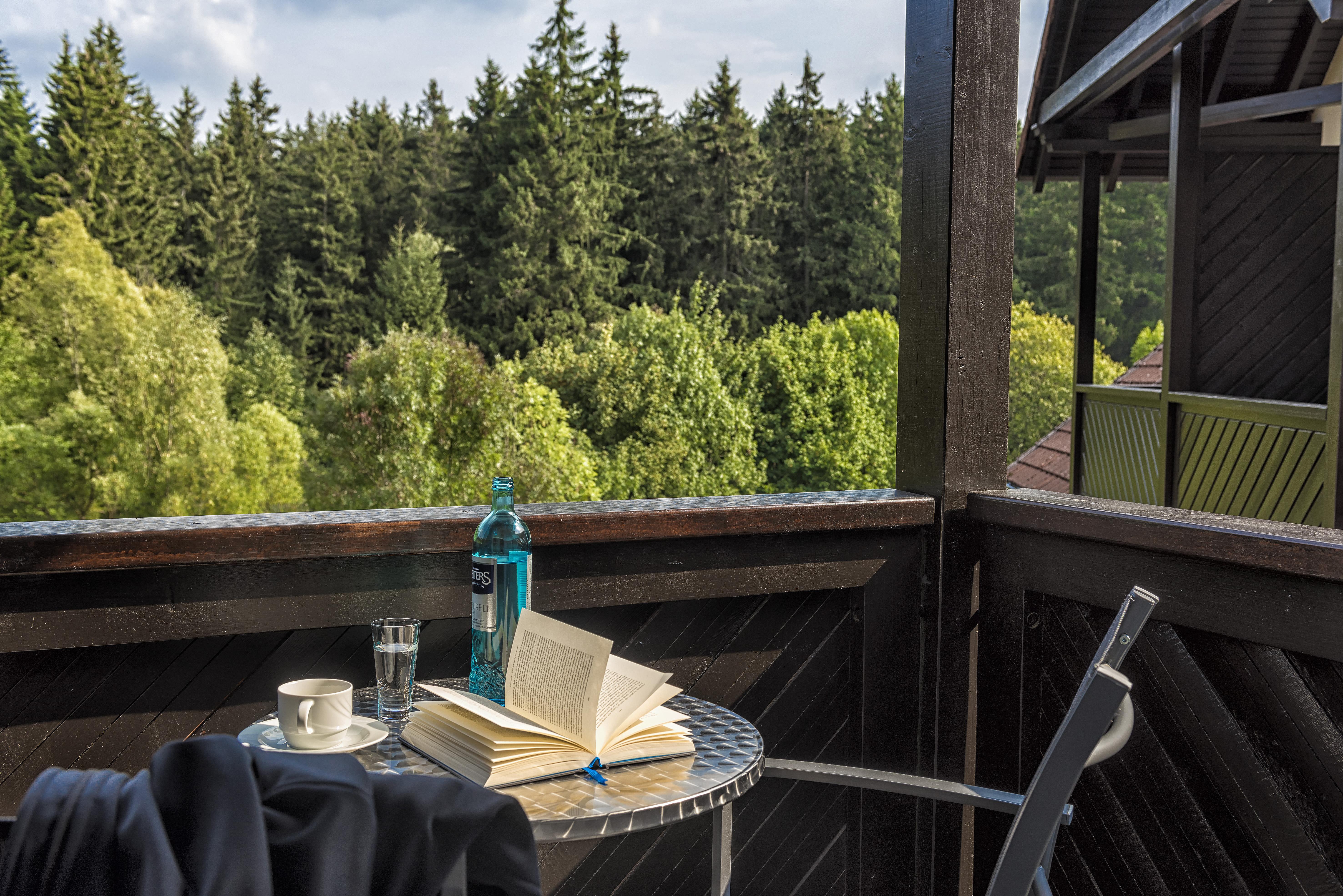 relexa hotel Harz-Wald - Braunlage - Aussicht vom Balkon